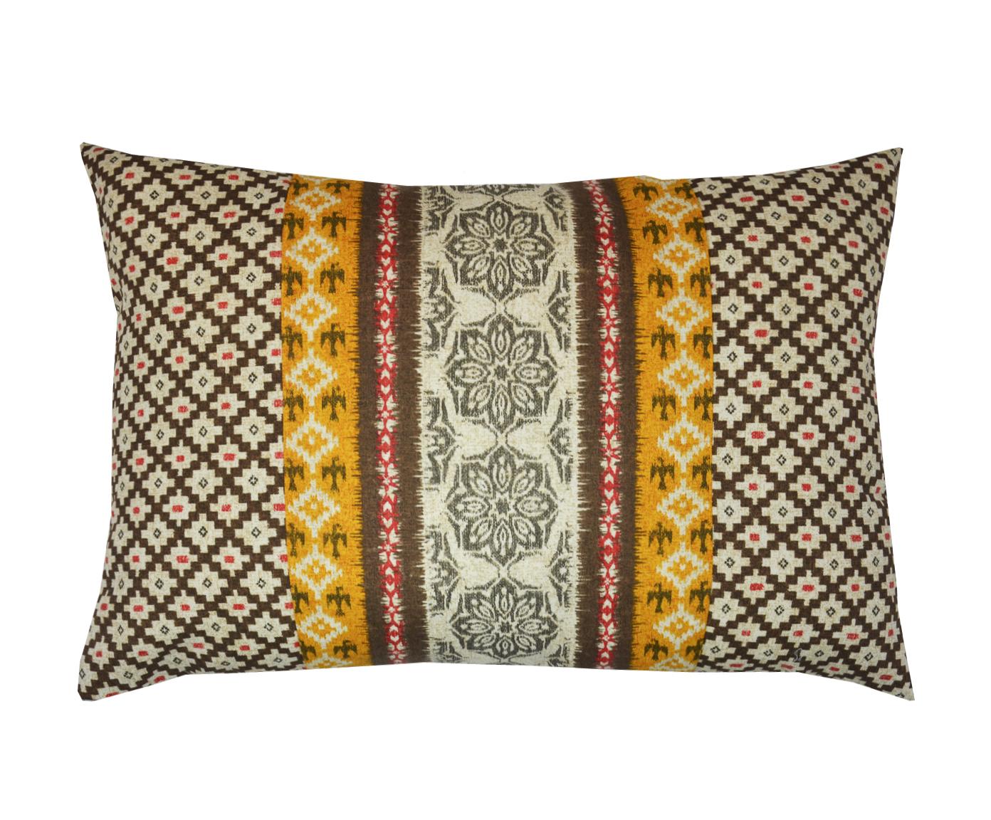 Подушка GranadaПрямоугольные подушки и наволочки<br>Декоративная  подушка .Чехол съемный.<br><br>Material: Хлопок<br>Length см: None<br>Width см: 60<br>Depth см: 15<br>Height см: 40