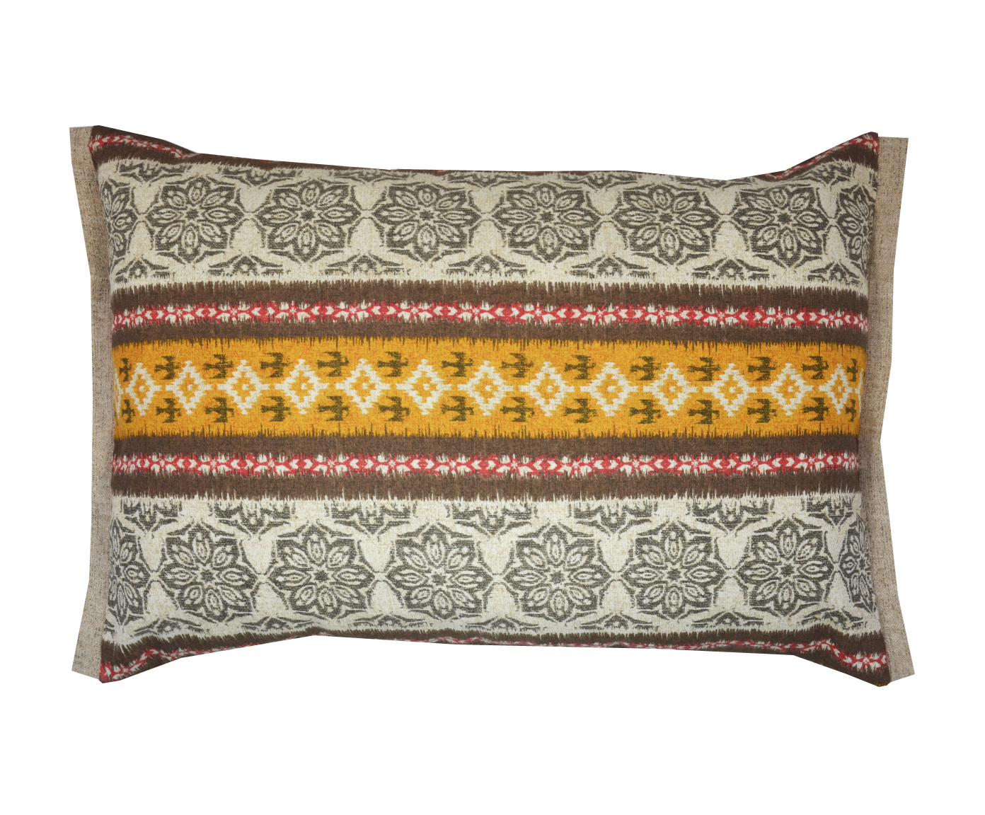 Подушка GranadaПрямоугольные подушки<br>Декоративная  подушка .Чехол съемный.<br><br>Material: Хлопок<br>Length см: None<br>Width см: 60<br>Depth см: 15<br>Height см: 40