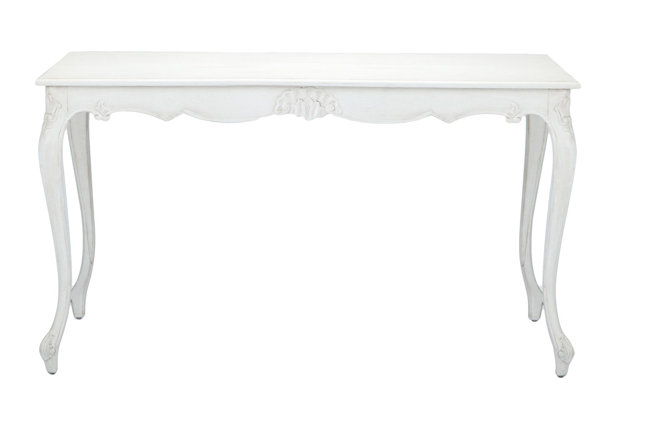 Стол обеденный АвгустинОбеденные столы<br>Стол обеденный прямоугольный в стиле прованс, украшен резьбой и патиной.<br><br>Material: Красное дерево<br>Length см: 140<br>Width см: 80<br>Height см: 79