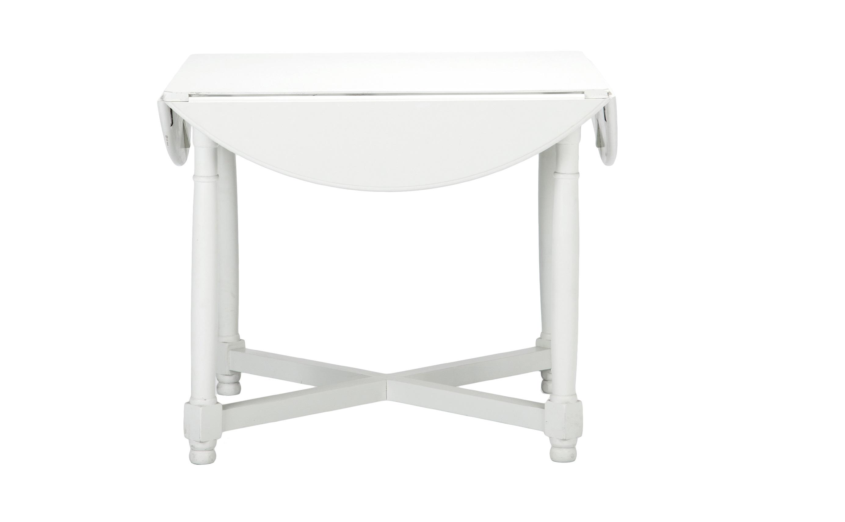 Стол обеденный круглый складнойОбеденные столы<br>Стол обеденный круглый на четырех ножках из березы, складывается в квадратный.<br><br>Material: Береза<br>Length см: None<br>Width см: 92<br>Depth см: 92<br>Height см: 77