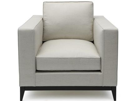 Кресло orlando (myfurnish) серый 92.0x85.0x100.0 см.