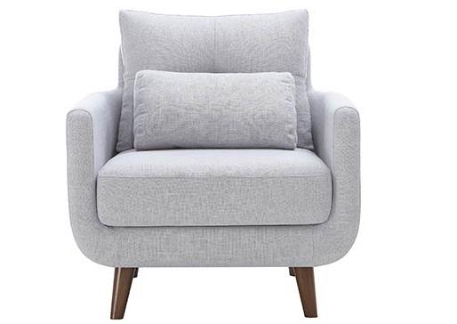 Кресло ANGLEИнтерьерные кресла<br>Материал: каркас - эвкалипт, сосна, МДФ. Ножки - дуб. Материал обивки: полиэстер 75%, лен 25%. Наполнитель подушек ППУ.<br><br>Material: Текстиль<br>Length см: None<br>Width см: 84<br>Depth см: 82<br>Height см: 74