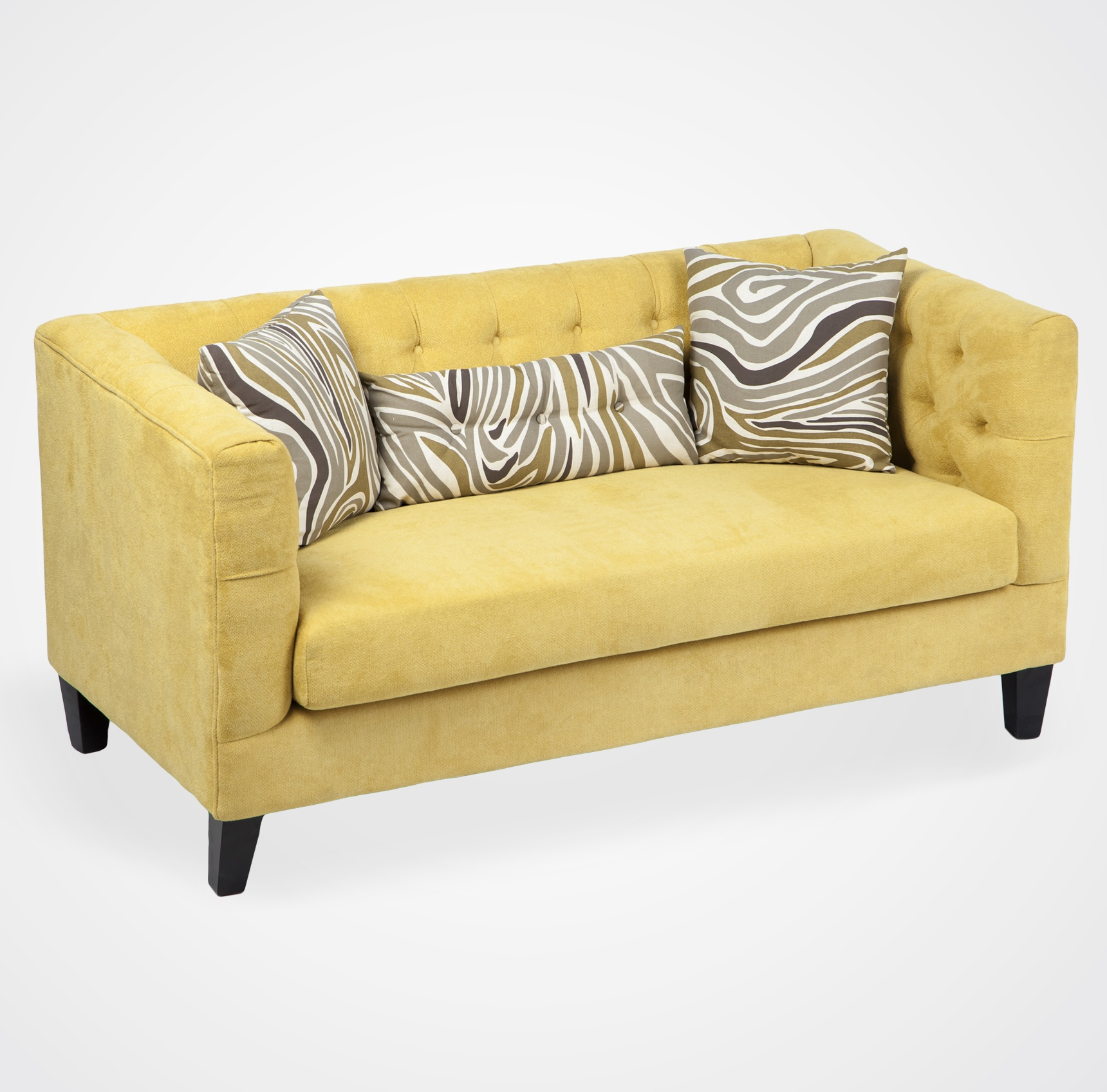 Желтый диван с доставкой
