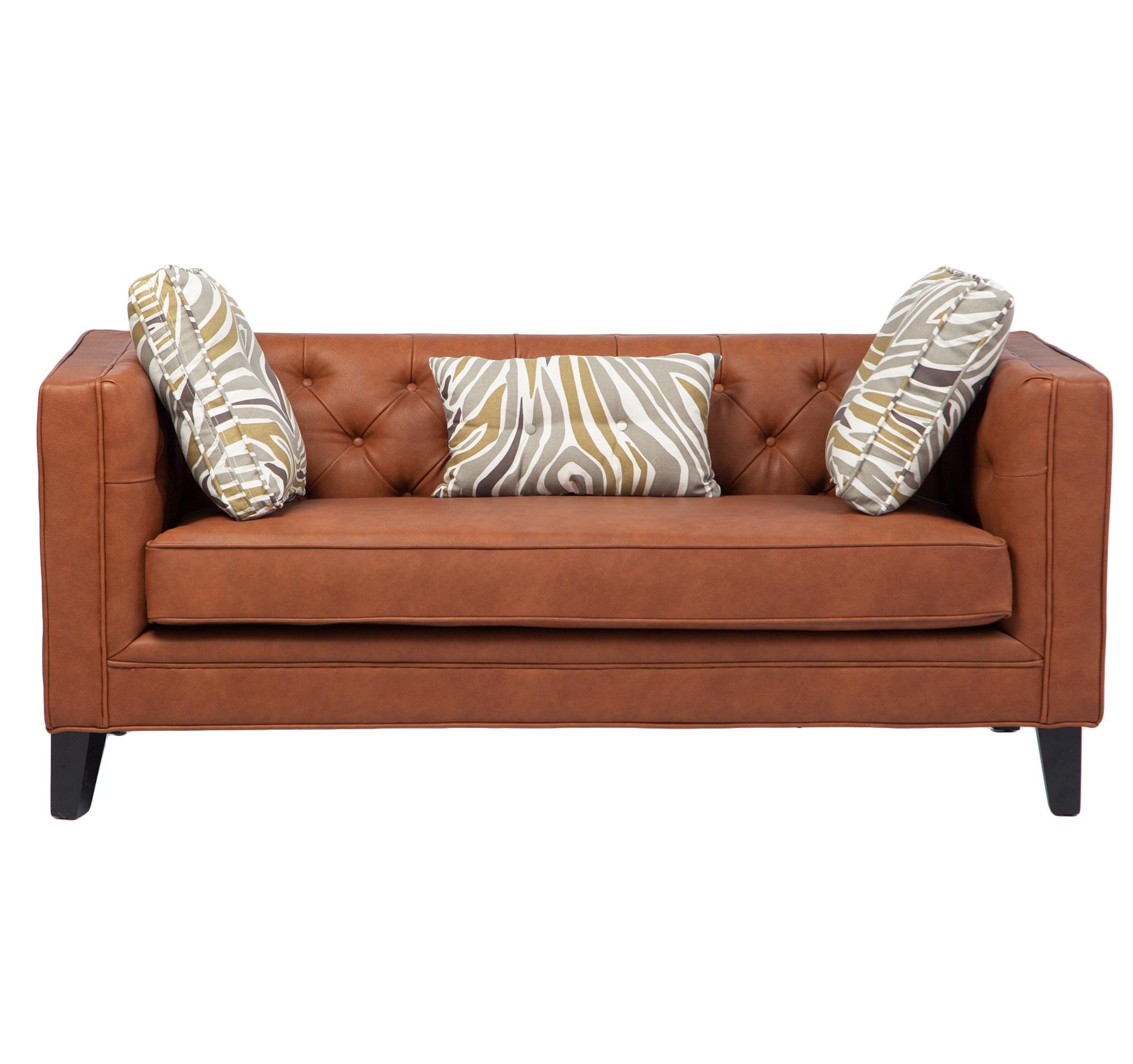 ДиванКожаные диваны<br>В комплекте 3 декоративные подушки.<br><br>Material: Кожа<br>Width см: 168<br>Depth см: 80<br>Height см: 85