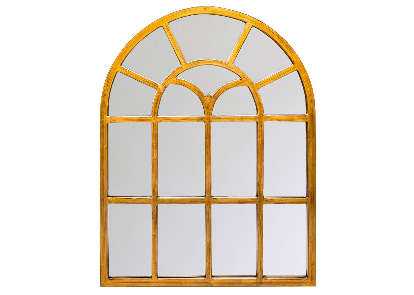 Настенное зеркало КастильонНастенные зеркала<br>Зеркало &amp;quot;Кастильон&amp;quot; спешит украсить  авангардные интерьеры &amp;quot;лофт&amp;quot;, &amp;quot;индастриал&amp;quot;, &amp;quot;шале&amp;quot; и &amp;quot;модерн&amp;quot;. Приглушенный золотой тон создает атмосферу гармонии, позитивные эмоции. Мода на компактные предметы интерьера никак не относится к зеркалу, для которого размер важен не меньше, чем дизайн. Зеркало имеет контурный фацет, покрыто серебряной амальгамой. Рама изготовлена из полиуретана, который  достоверно имитирует любые материалы. На первый взгляд оправа зеркала &amp;quot;Кастильон&amp;quot; не отличается от металлической.<br><br>Material: Полиуретан<br>Width см: 80.5<br>Depth см: 2<br>Height см: 106.2