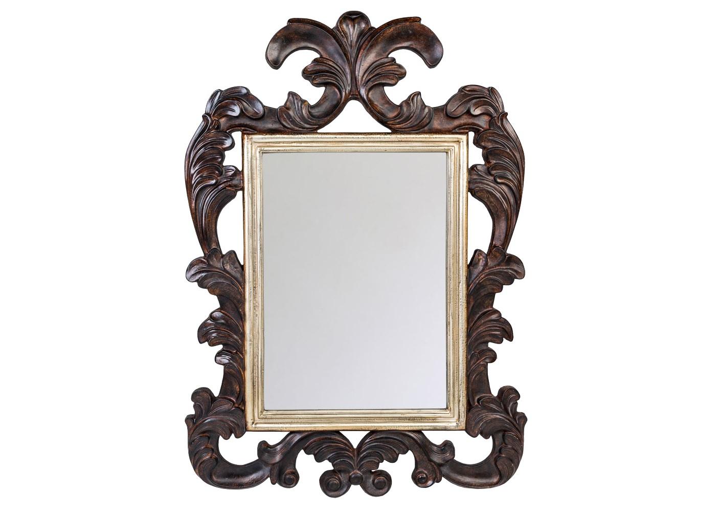 Настенное зеркало ШатлеНастенные зеркала<br>Античные мотивы зеркала &amp;quot;Шатле&amp;quot; близки многим интерьерным формулам. Своё отражение в нем найдут готический, романский, греческий, кельтский, арабский стили, французский классицизм, ренессанс и ампир. Строгую прямоугольную основу примут современные жанры &amp;quot;модерн&amp;quot; и &amp;quot;лофт&amp;quot;. Зеркало покрыто серебряной амальгамой. Рама изготовлена из полиуретана, - экологически безвредного, прочного и долговечного материала. Этот материал стоек к влаге и солнечному свету, краски не тускнеют и не выгорают.<br><br>Material: Полиуретан<br>Width см: 129.5<br>Depth см: 3.5<br>Height см: 89