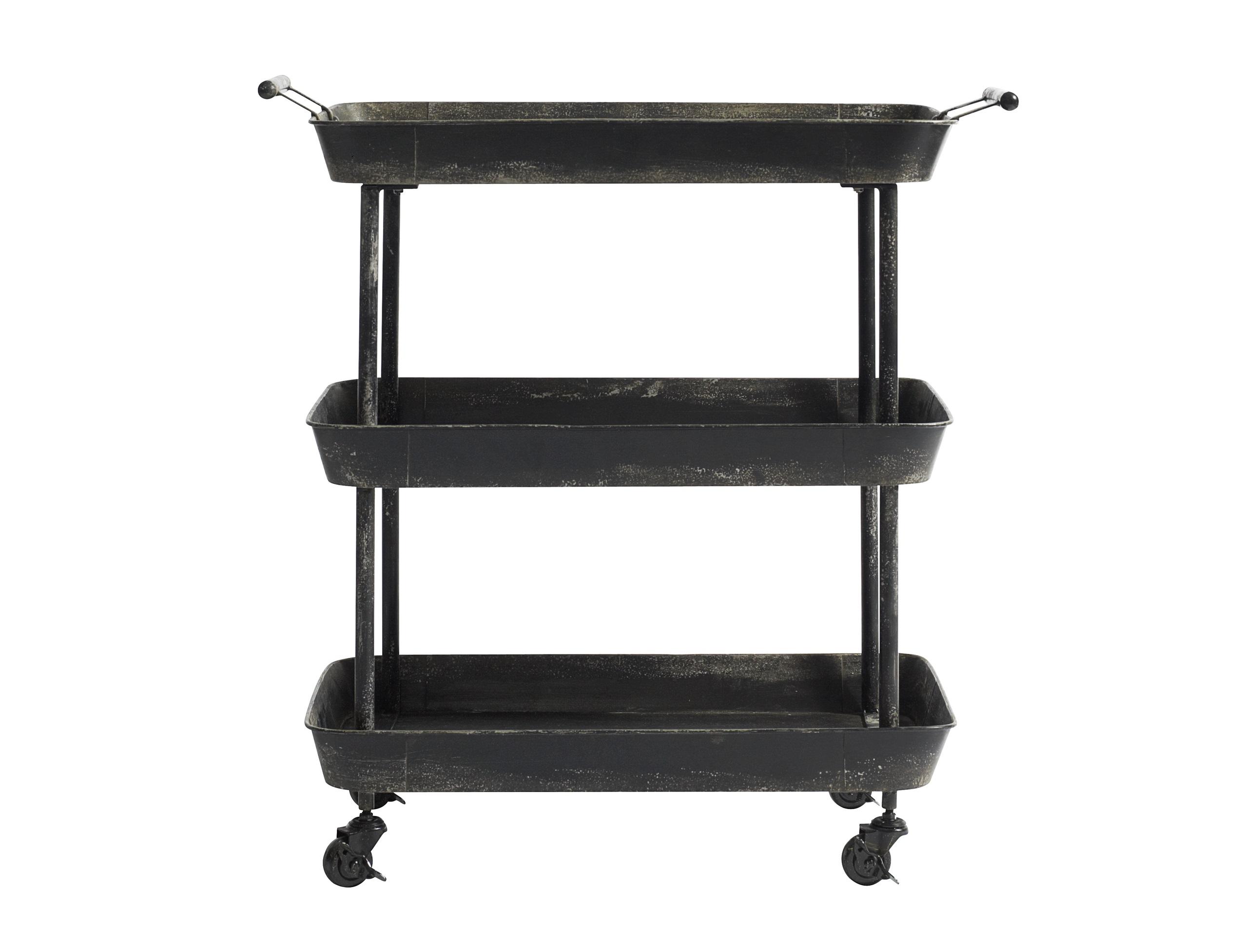 Столик сервировочный TROLLEYСервировочные столики<br><br><br>Material: Металл<br>Width см: 66<br>Depth см: 41<br>Height см: 78