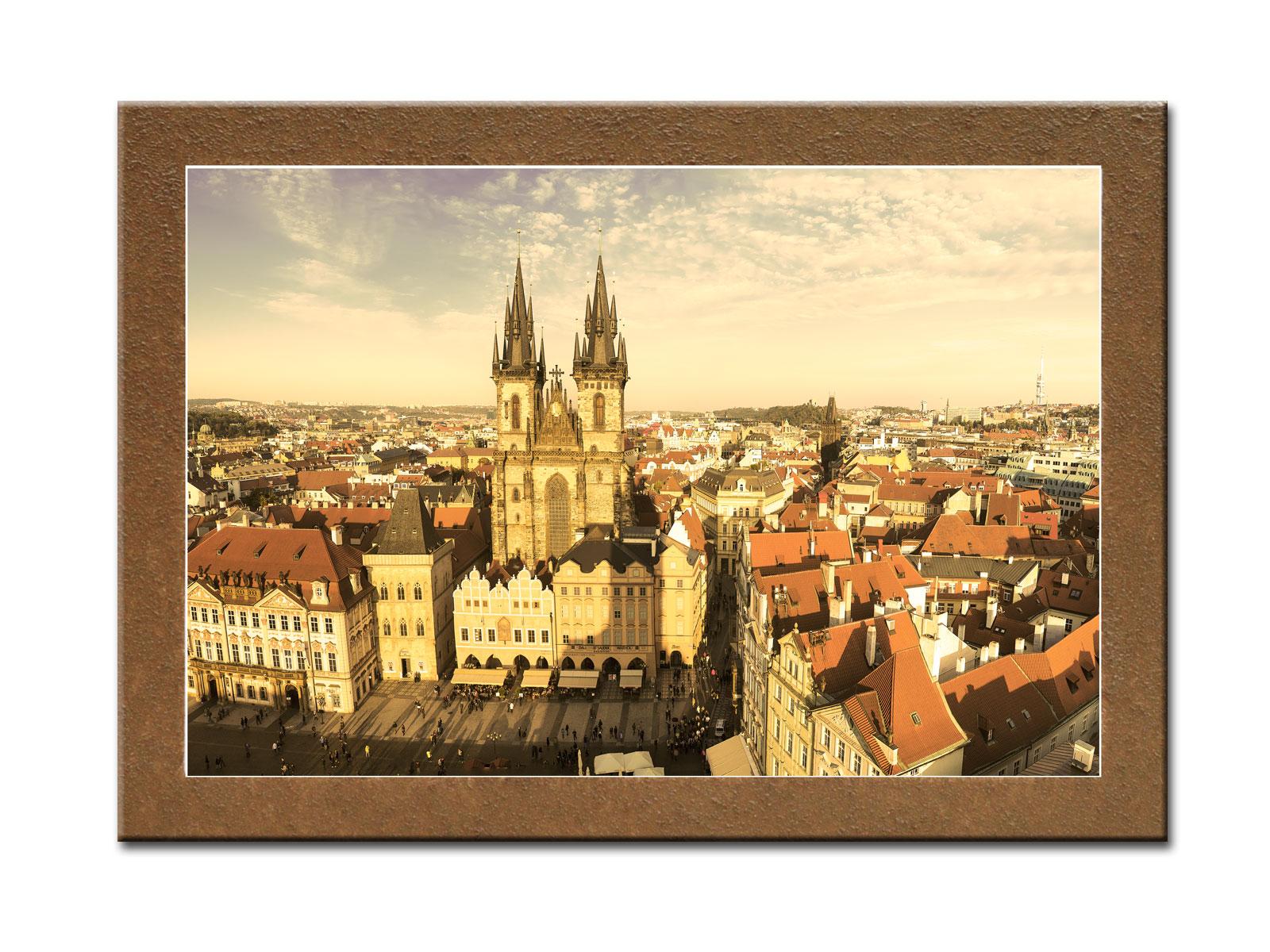 Картина С высотыКартины<br>Картина из серии &amp;quot;Города&amp;quot;.&amp;amp;nbsp;&amp;lt;div&amp;gt;&amp;lt;br&amp;gt;&amp;lt;/div&amp;gt;&amp;lt;div&amp;gt;Натуральный холст, галерейный подрамник, по периметру картина декорирована фактурой песка.&amp;lt;/div&amp;gt;<br><br>Material: Дерево<br>Width см: 70<br>Depth см: 3<br>Height см: 50