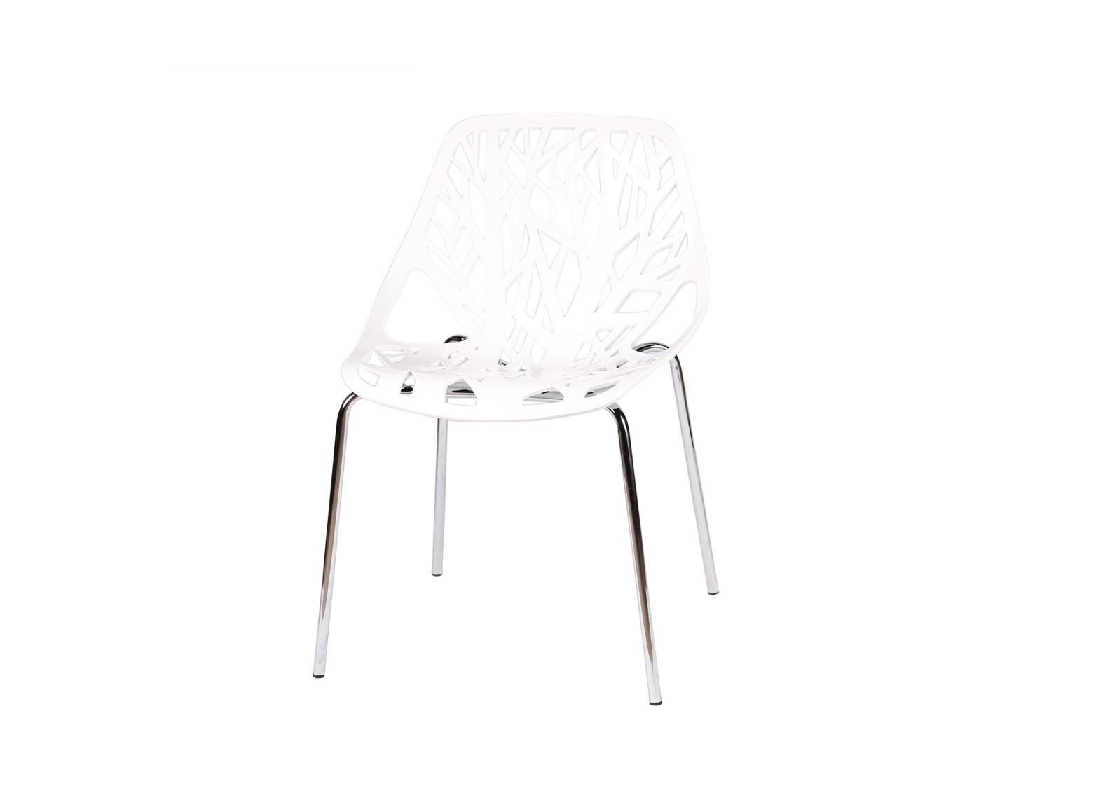 Стул современный ОрлеанОбеденные стулья<br>Стул современный Орлеан изготовлен из качественного термопластика. Наибольший интерес представляет дизайн сидения и спинки - геометричные формы составлены из повторяющихся призматических узоров, стилизованных под природную тематику. Этот современный дизайнерский стул превосходно вписывается в концепцию интерьера в стиле минимализм или в скандинавском стиле. Более того, современный стул Орлеан очень удобный и прочный, он займет достойное место у Вас дома.<br><br>Material: Пластик<br>Width см: 64<br>Depth см: 58<br>Height см: 52