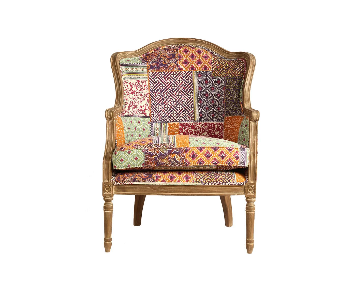 КреслоИнтерьерные кресла<br>Классическое кресло на резном деревянном каркасе. Подушка сиденья независимая.&amp;amp;nbsp;<br><br>Material: Текстиль<br>Width см: 69<br>Depth см: 69<br>Height см: 92