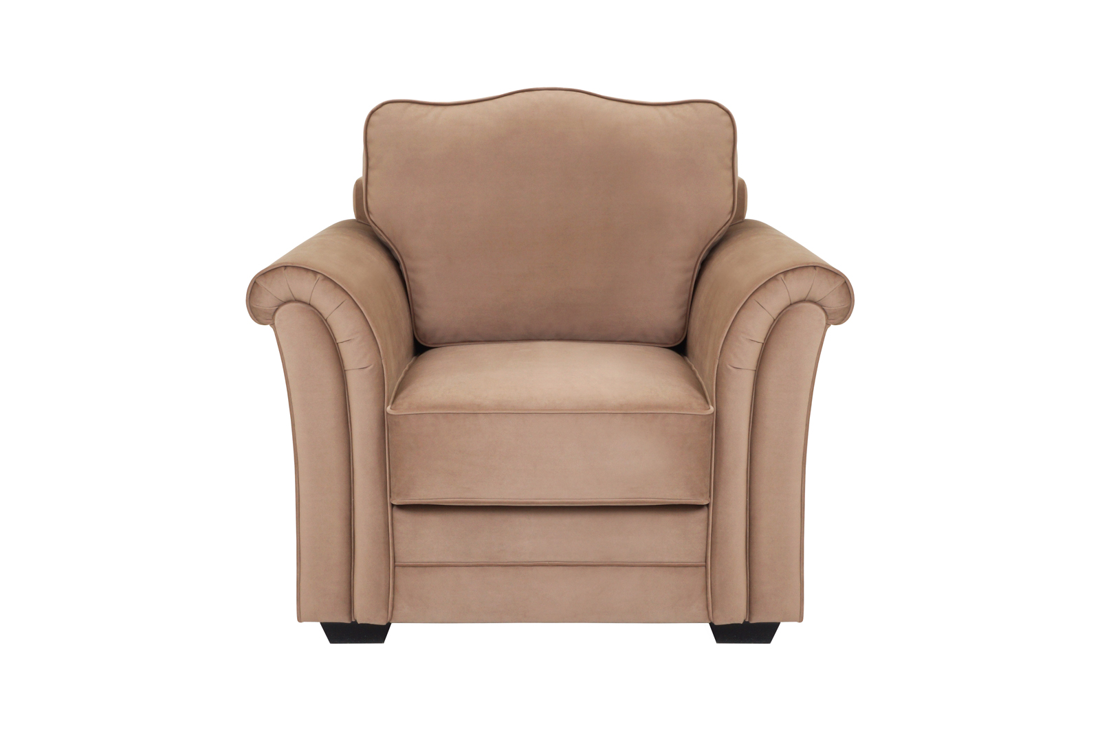 Кресло SydИнтерьерные кресла<br>Это кресло вдохновлено самой природой! Изящные подлокотники, напоминающие по форме панцирь улитки, и спинка, похожая на изящный листик, сочетаются с нежным цветом пиона. Романтичный и элегантный вариант для гостиной в стиле Прованс.Каркас: деревянный брус, фанераСиденье: пружинный блок, пенополиуретан, холлофайберЛицевой чехол: несъёмныйШирина сиденья:54 см.Глубина сиденья:57 см.Высота сиденья:48 см.<br><br>kit: None<br>gender: None