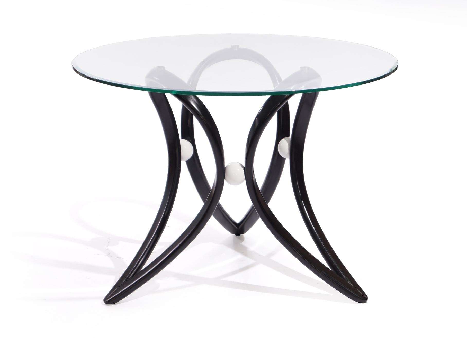 Стол обеденный Apriori VОбеденные столы<br>&amp;lt;div&amp;gt;Обеденный круглый стол с изящным основанием из натурального дерева.&amp;amp;nbsp;&amp;lt;/div&amp;gt;&amp;lt;div&amp;gt;Материал: Натуральное дерево, береза, цвет: венге.&amp;lt;/div&amp;gt;&amp;lt;div&amp;gt;Стекло прозрачное.&amp;lt;/div&amp;gt;<br><br>Material: Береза<br>Length см: None<br>Width см: None<br>Depth см: None<br>Height см: 75<br>Diameter см: 105