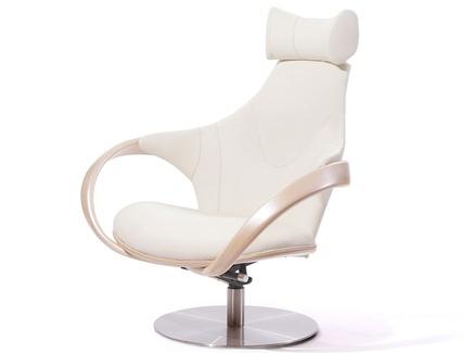 Кресло apriori r (actualdesign) белый 85.0x110.0x102.0 см.