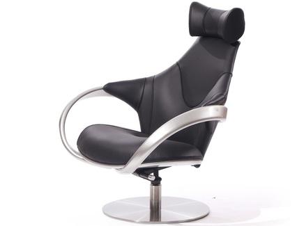 Кресло apriori r (actualdesign) черный 85.0x110.0x102.0 см.