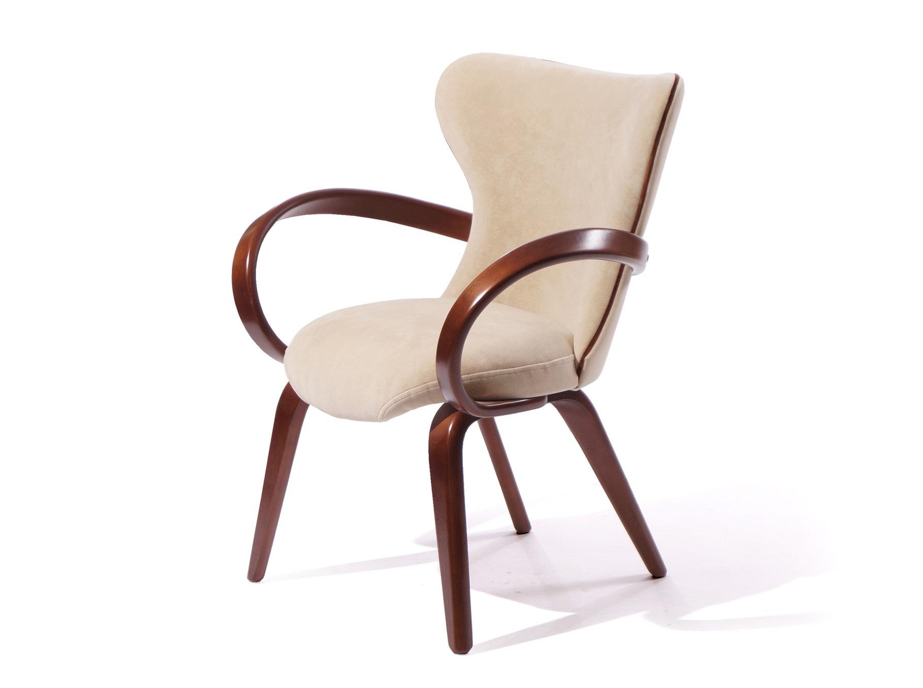Стул Apriori SОбеденные стулья<br>Изящный стул с подлокотниками из гнутого дерева. При сохранении визуальной легкости стул  остается  прочный и удобный. Хорошо сочетается с круглыми столами серии apriori.&amp;amp;nbsp;<br><br>Material: Дерево<br>Length см: None<br>Width см: 75<br>Depth см: 62<br>Height см: 85