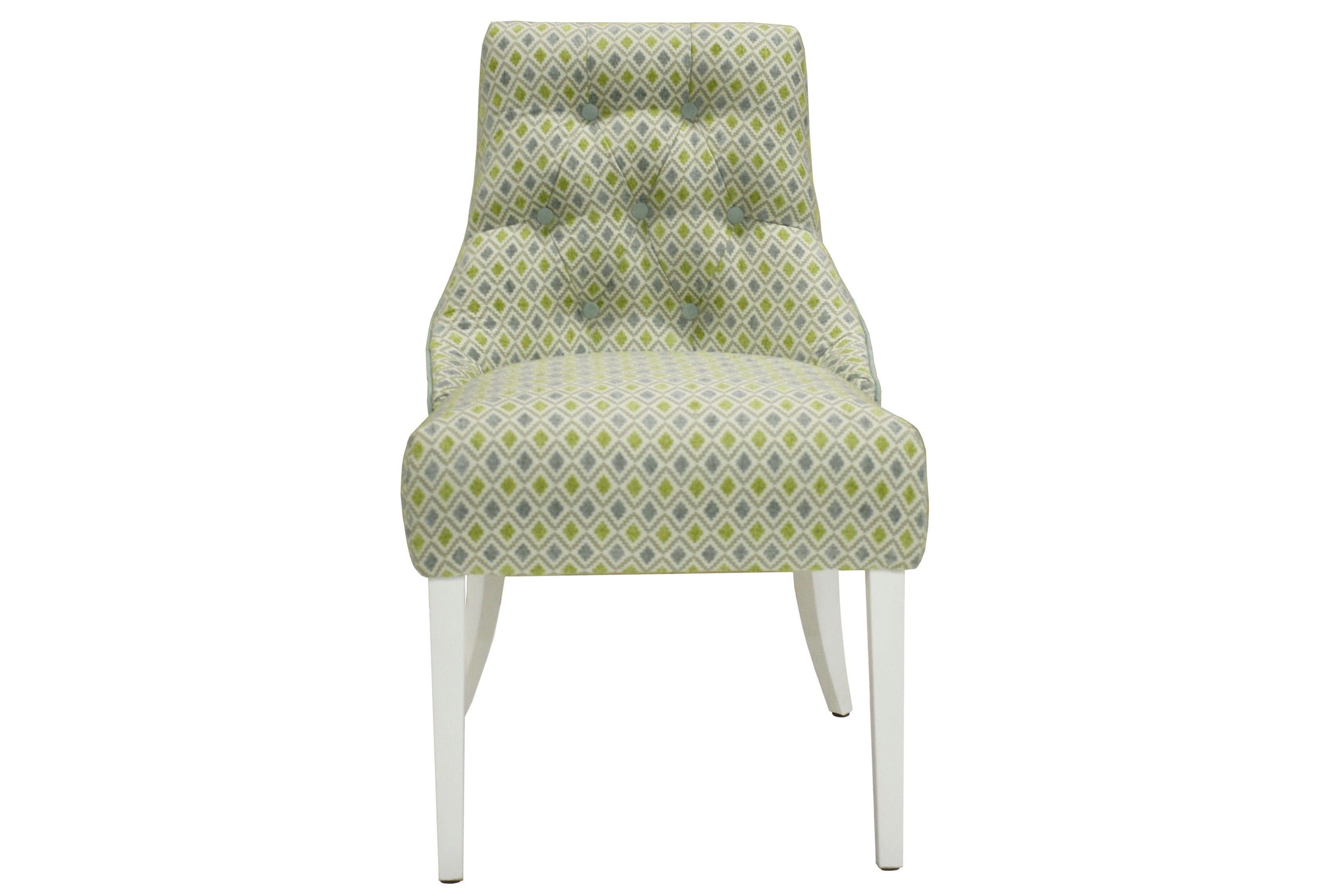 Стул МессиноПолукресла<br>&amp;lt;div&amp;gt;Классический стул без подлокотников декорирован стежкой капитоне по внутренней части изогнутой спинки и гвоздевым декором по всему внешнему периметру.&amp;amp;nbsp;&amp;lt;/div&amp;gt;&amp;lt;div&amp;gt;&amp;lt;br&amp;gt;&amp;lt;/div&amp;gt;&amp;lt;div&amp;gt;Особенность модели: спинка создана с плавным переходом в боковой уровень, что прекрасно заменяет подлокотники.&amp;amp;nbsp;&amp;lt;/div&amp;gt;&amp;lt;div&amp;gt;Доп.Опция: замена пуговиц стежки на стразы.&amp;lt;/div&amp;gt;<br><br>Material: Текстиль<br>Width см: 53<br>Depth см: 53<br>Height см: 80