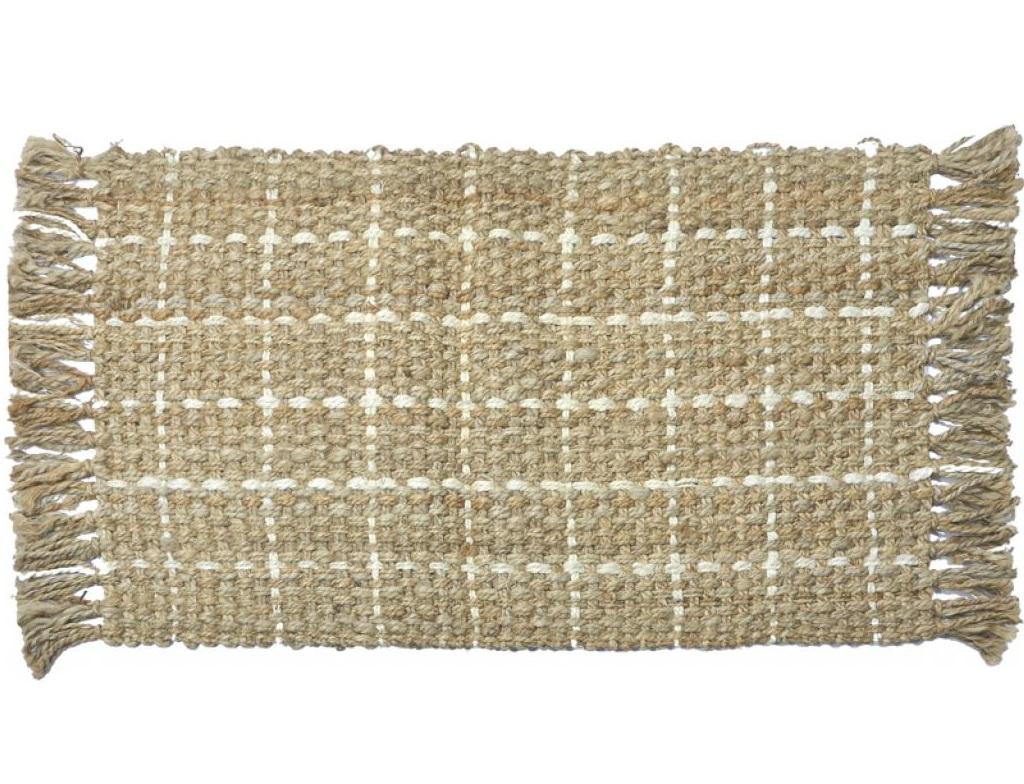 Ковер Эко джутПрямоугольные ковры<br>Ручная работа, Patchwork<br><br>Material: Джут<br>Width см: 150<br>Height см: 80
