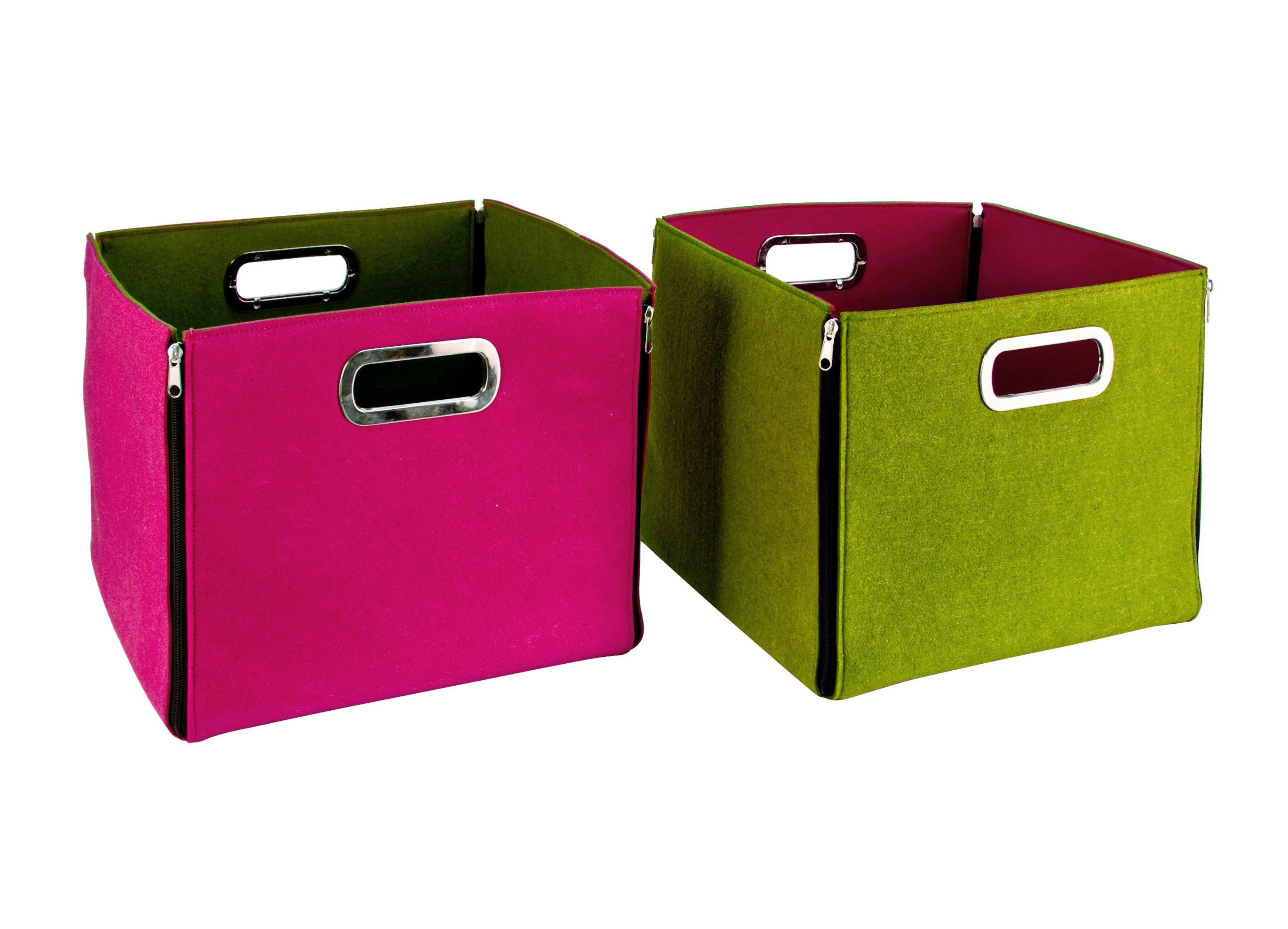 Набор из двух коробок для храненияКоробки<br><br><br>Material: Шерсть<br>Length см: None<br>Width см: 32.5<br>Depth см: 32.5<br>Height см: 30
