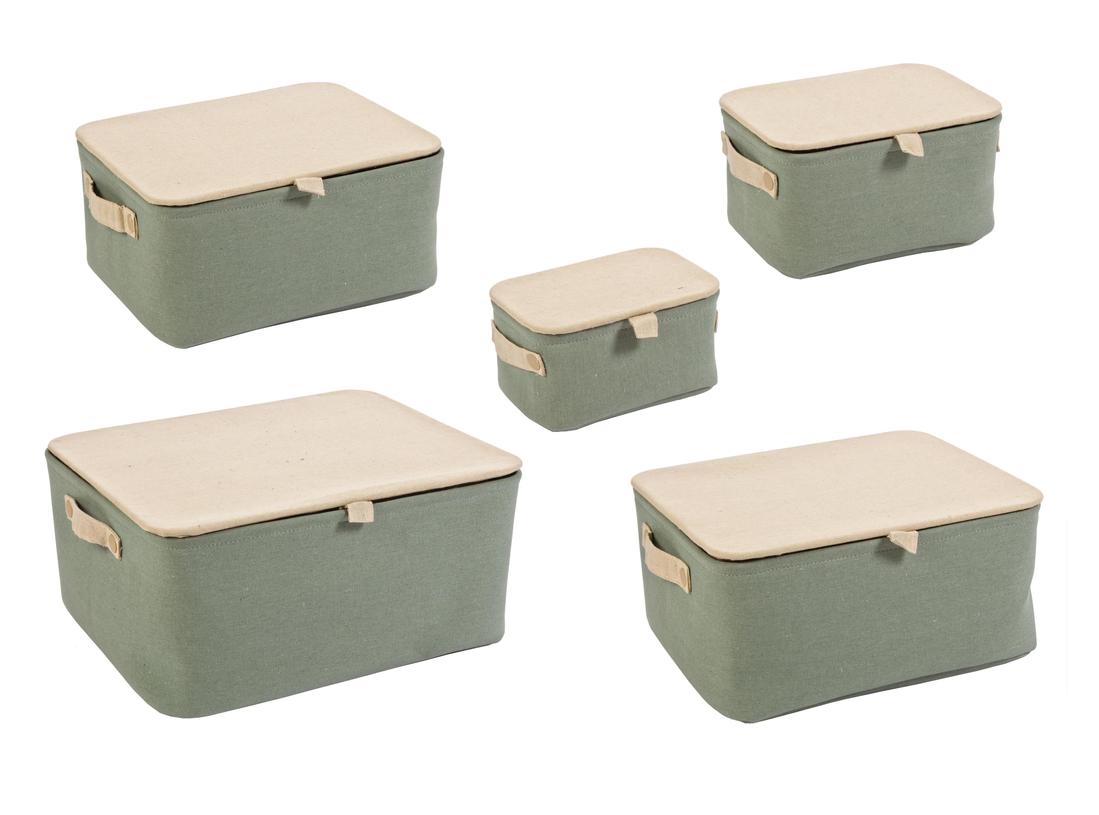 "Набор из пяти коробок для хранения ""Soft"""