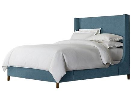 Кровать grayson sleigh (ml) синий 170.0x150.0x212.0 см.