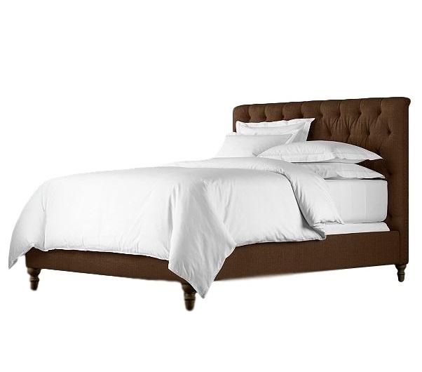 Кровать CHESTERFIELDКровати с мягким изголовьем<br>&amp;lt;div&amp;gt;Эта &amp;quot;карета&amp;quot; не превратится в тыкву после полуночи, напротив, она будет терпеливо вас ждать, чтобы предстать перед вами во всей красе! Изысканное изголовье, украшенное традиционной каретной стяжкой, резные ножки и текстильная обивка из рогожки -- к такой кровати хочется возвращаться снова и снова. &amp;amp;nbsp; &amp;amp;nbsp; &amp;amp;nbsp; &amp;amp;nbsp; &amp;amp;nbsp; &amp;amp;nbsp; &amp;amp;nbsp;&amp;amp;nbsp;&amp;lt;/div&amp;gt;&amp;lt;div&amp;gt;&amp;lt;br&amp;gt;&amp;lt;/div&amp;gt;&amp;lt;div&amp;gt;Материалы: бук, текстиль.&amp;lt;/div&amp;gt;&amp;lt;div&amp;gt;Варианты исполнения: более 200 цветов.&amp;lt;/div&amp;gt;&amp;lt;div&amp;gt;Высота изголовья 142 см (представлено); 172 см; 213 см.&amp;lt;/div&amp;gt;&amp;lt;div&amp;gt;Размеры спального места:&amp;lt;/div&amp;gt;&amp;lt;div&amp;gt;140*200&amp;lt;/div&amp;gt;&amp;lt;div&amp;gt;160*200- представлено&amp;lt;/div&amp;gt;&amp;lt;div&amp;gt;180*200&amp;lt;/div&amp;gt;&amp;lt;div&amp;gt;200*200&amp;lt;/div&amp;gt;&amp;lt;div&amp;gt;Гарантия от производителя.&amp;lt;/div&amp;gt;&amp;lt;div&amp;gt;&amp;lt;br&amp;gt;&amp;lt;/div&amp;gt;<br><br>Material: Текстиль<br>Ширина см: 170<br>Высота см: 142<br>Глубина см: 220