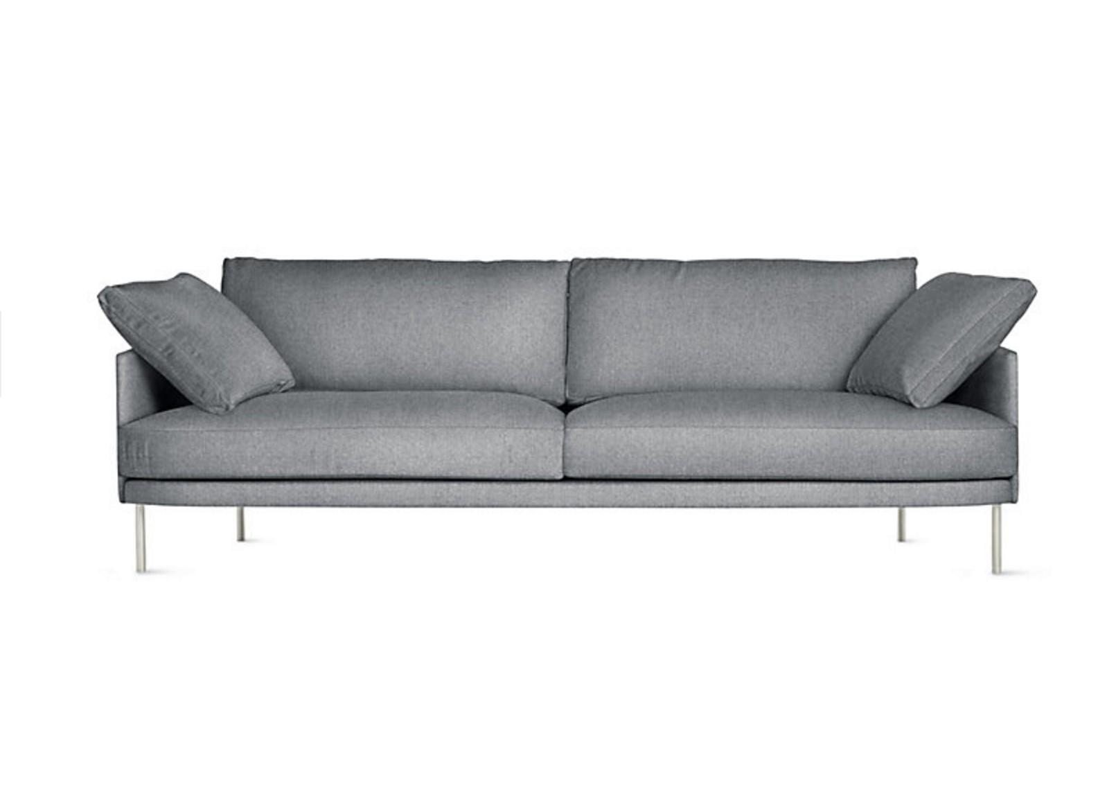 Диван CampbelТрехместные диваны<br>Простые геометрические формы и симметрия, присущие скандинавскому стилю, сочетаются в этом диване с изящными ножками. Получается легкий силуэт, идеально подходящий для современного интерьера. Отлично выглядит на паркете или безворсовом ковре с геометрическим узором.&amp;amp;nbsp;&amp;lt;div&amp;gt;Вы можете выбрать из 200 цветов именно тот, который настроит вас на расслабление и отдых.&amp;lt;/div&amp;gt;<br><br>Material: Текстиль<br>Width см: 206<br>Depth см: 93<br>Height см: 81