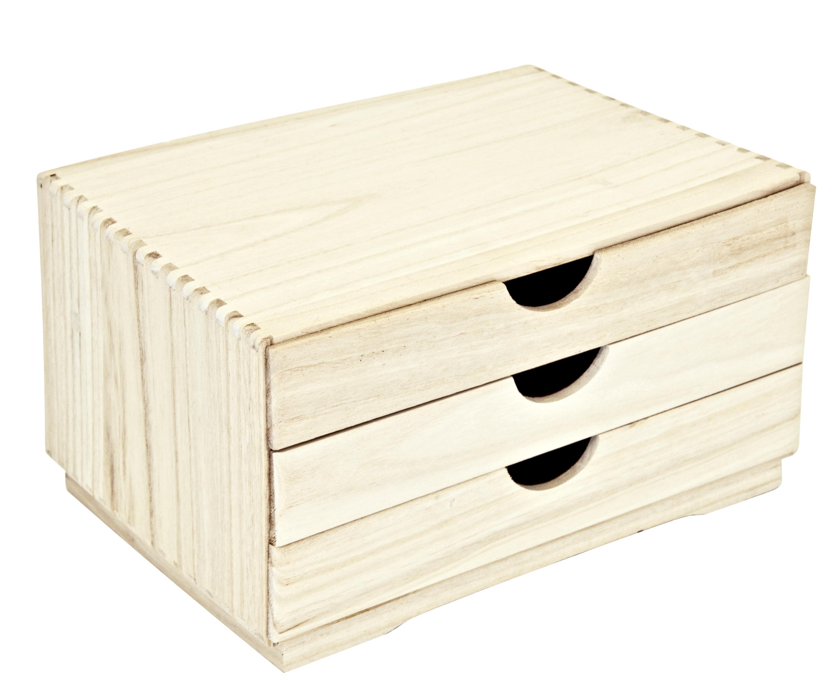 КоробкаКоробки<br>Коробка с 3 ящиками.&amp;amp;nbsp;<br><br>Material: Дерево<br>Length см: None<br>Width см: 34<br>Depth см: 25<br>Height см: 19.5