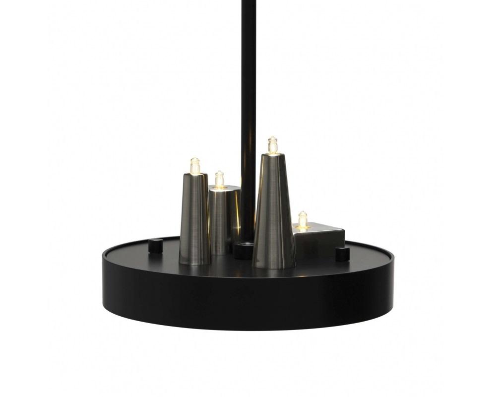 Подвесной светильникСветильники на штанге<br>Металлическое основание (цвет черный матовый), металлические плафоны (цвет никель, имитация свечей)&amp;amp;nbsp;&amp;lt;div&amp;gt;&amp;lt;br&amp;gt;&amp;lt;/div&amp;gt;&amp;lt;div&amp;gt;LED (светодиод),&amp;amp;nbsp;&amp;lt;/div&amp;gt;&amp;lt;div&amp;gt;мощность 12 х 1W&amp;lt;/div&amp;gt;<br><br>Material: Металл<br>Length см: None<br>Width см: None<br>Depth см: None<br>Height см: 155<br>Diameter см: 73