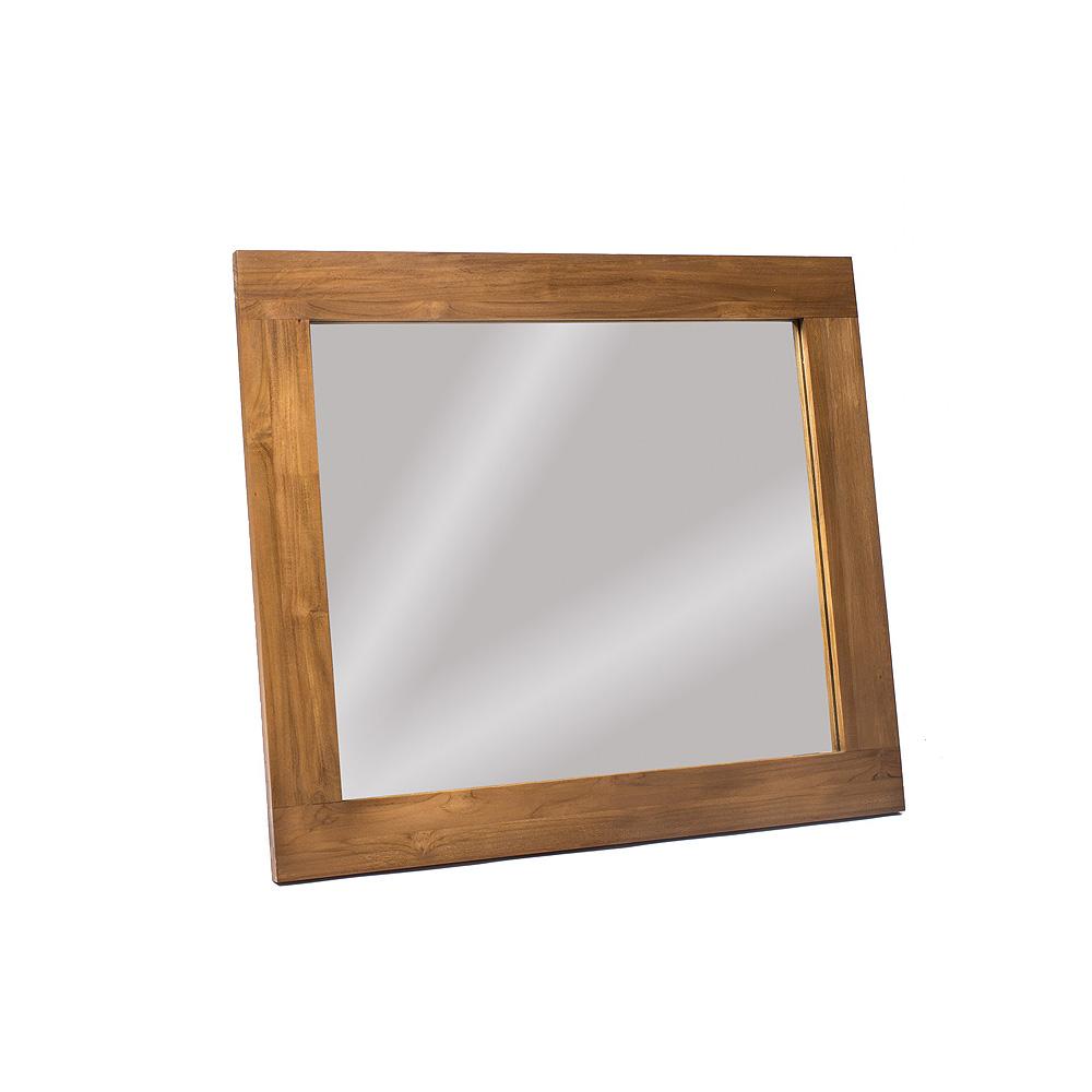 Зеркало MaxНастенные зеркала<br>&amp;lt;div&amp;gt;Элегантное, горизонтально ориентированное зеркало. Рама изготовлена из массива тика. Мастера бережно сохранили природную фактуру и узор дерева. Светло-коричневый цвет с золотистым отливом – абсолютно натуральный. В этом основная прелесть и достоинство тика. Он не нуждается ни в какой декоративной обработке красками или пропитке защитными составами. Его удивительная древесина по своей природе устойчива к негативному воздействию, как внешнему, так и внутреннему, окружающей среды. Рама не рассохнется, не поблекнет, не спасует перед вредителями.&amp;amp;nbsp;&amp;lt;/div&amp;gt;&amp;lt;div&amp;gt;&amp;lt;br&amp;gt;&amp;lt;/div&amp;gt;&amp;lt;div&amp;gt;Зеркало Max долгие годы будет притягивать к себе взоры не только как зеркало, но и как прекрасный, самобытный предмет интерьера.&amp;amp;nbsp;&amp;lt;/div&amp;gt;&amp;lt;div&amp;gt;&amp;lt;br&amp;gt;&amp;lt;/div&amp;gt;<br><br>Material: Тик<br>Length см: None<br>Width см: 80<br>Depth см: 2.5<br>Height см: 70<br>Diameter см: None