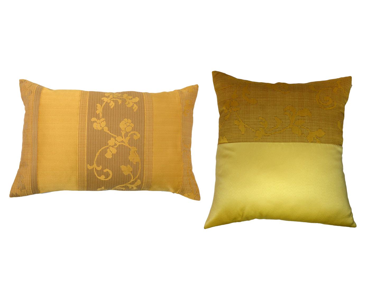 Комплект подушек Tender Sand (2шт)Квадратные подушки и наволочки<br>Комплект декоративных  подушек. Чехол съемный.<br><br>Material: Вискоза<br>Length см: 40<br>Width см: 60.4<br>Depth см: 15