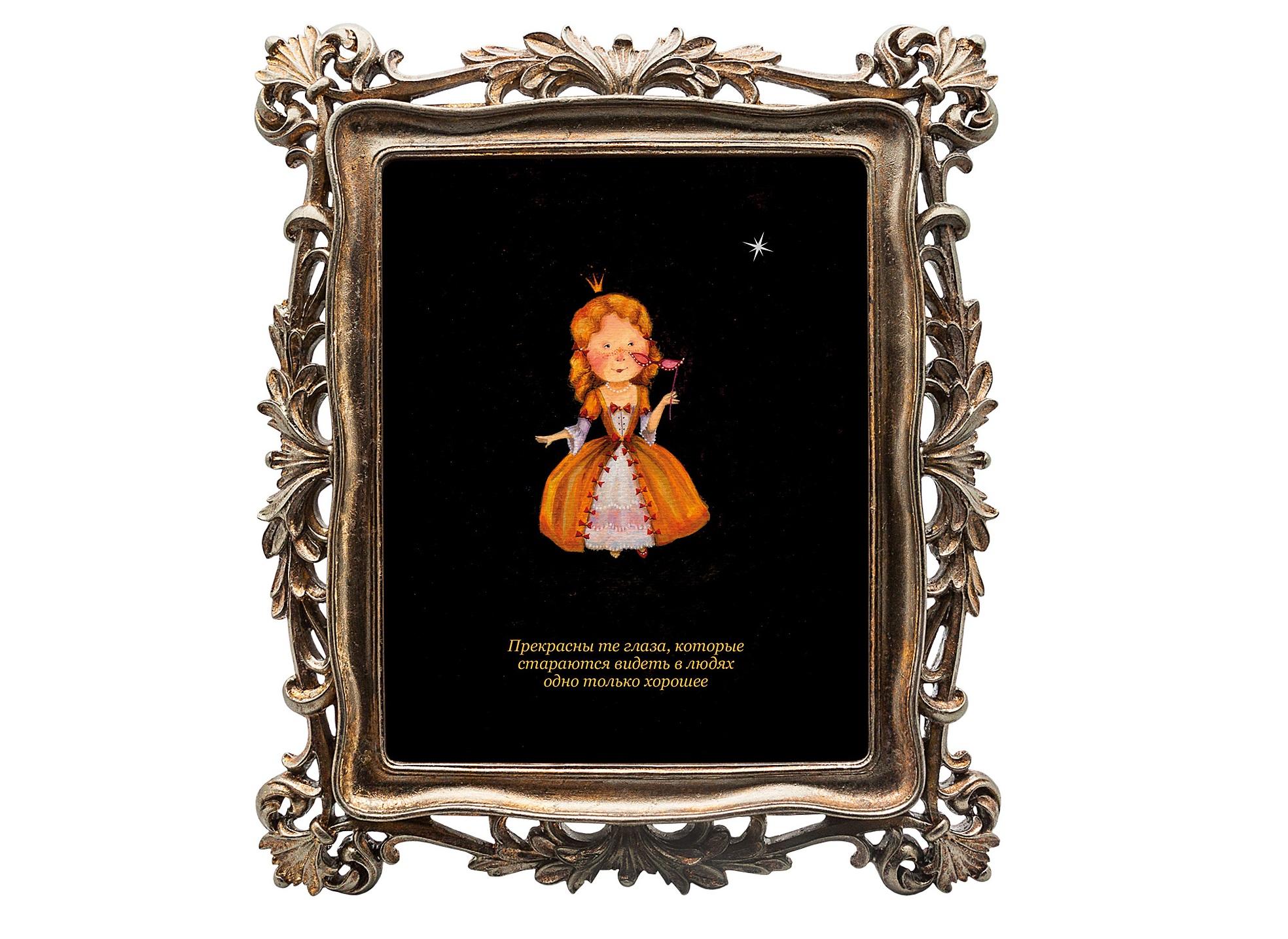 Картина 12 рецептов счастья (Дева)Картины<br>Картина из коллекции «12 рецептов счастья» «Прекрасны те глаза, которые стараются видеть в людях одно только хорошее» олицетворяет собой знак зодиака Дева, преподнося нам уникальное пожелание.  Картину можно повесить на стену, либо поставить, например, на стол или камин. Защитный стеклянный слой  гарантирует долгую жизнь прекрасному изображению. Рама изготовлена из полистоуна. Искусная техника состаривания придает раме особую теплоту и винтажность.<br><br>&amp;lt;div&amp;gt;&amp;lt;br&amp;gt;&amp;lt;/div&amp;gt;&amp;lt;div&amp;gt;Материал: полистоун, стекло, дизайнерская бумага.&amp;lt;br&amp;gt;&amp;lt;/div&amp;gt;<br><br>Material: Полистоун<br>Width см: 29.7<br>Depth см: 2.2<br>Height см: 34.7