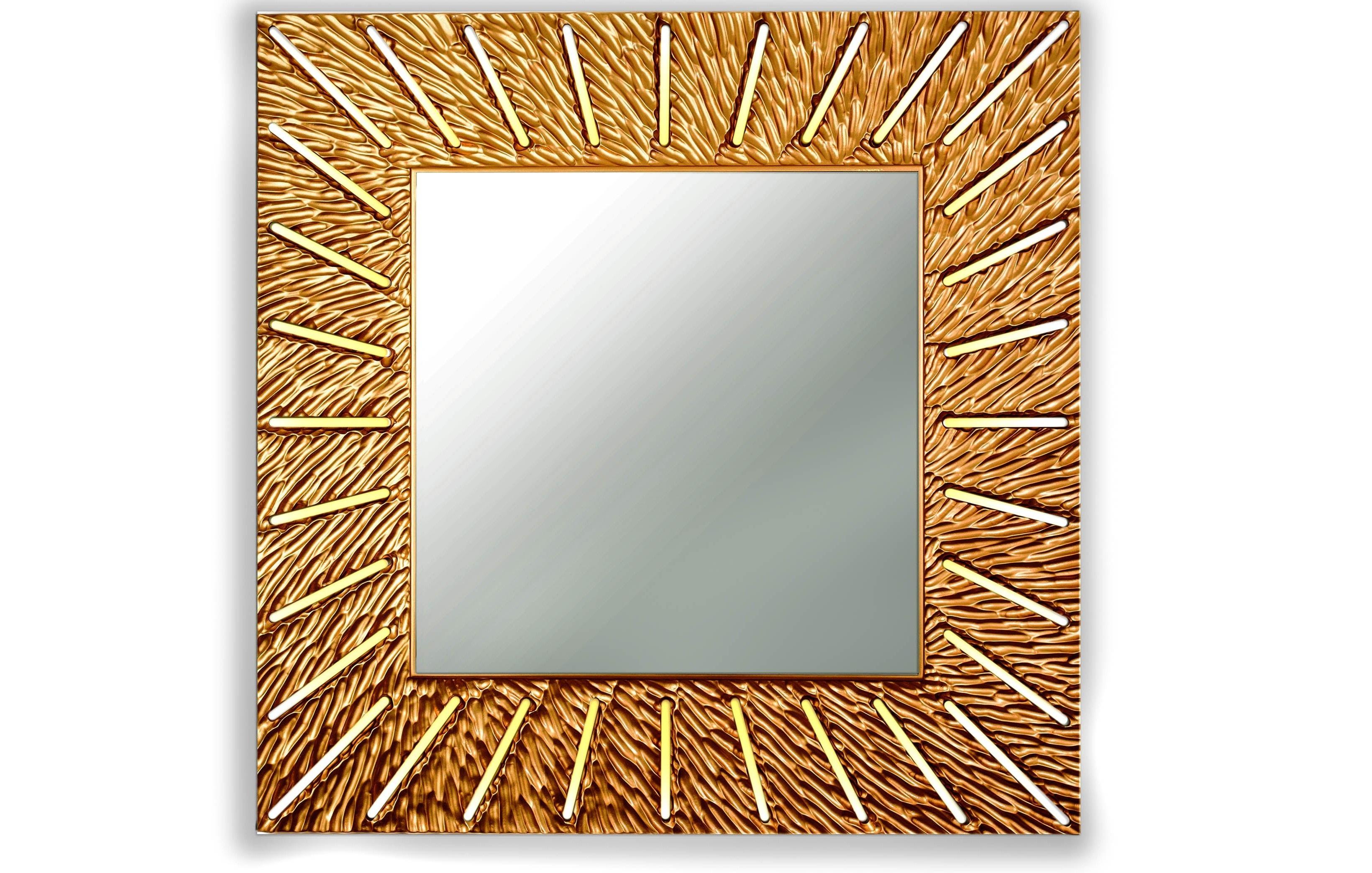 Зеркало SUNSHINEНастенные зеркала<br>С лучами солнца в дом приходят радость и веселье. <br>Распахните жизнь им навстречу, чтобы каждый день приносил удачу. <br>Символ солнца и изобилия-коллекция зеркал Sunshine согреет и осветит ваш дом.&amp;amp;nbsp;<br><br>Material: Дерево<br>Width см: 90<br>Depth см: 0,8<br>Height см: 90