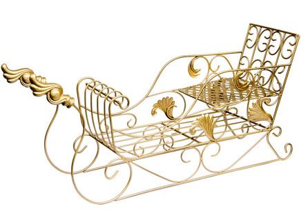 Арт-декор лапландия (object desire) золотой 60x27x17.8 см.