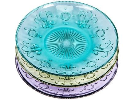 """Комплект тарелок """"Королевская лилия"""""""