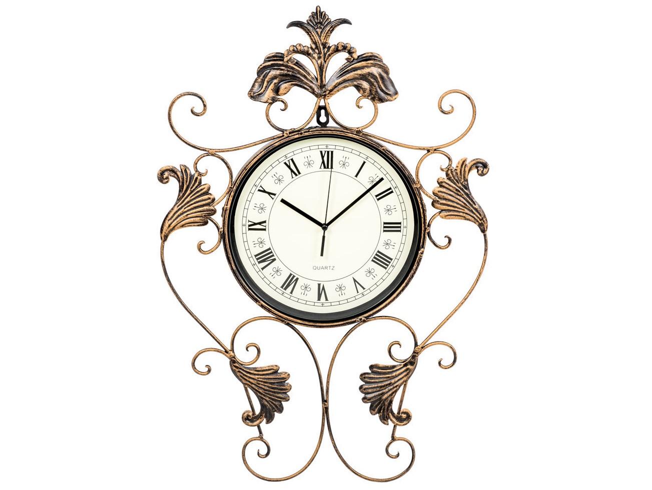 Настенные часы НансиНастенные часы<br>Часы &amp;quot;Нанси&amp;quot; - безупречный образец  ренессанса, спутник классических &amp;quot;барокко&amp;quot;, &amp;quot;ампира&amp;quot;, &amp;quot;рококо&amp;quot;, романского и английского стилей, эталон салонного &amp;quot;ар-деко&amp;quot;. Невесомый растительный узор навевает пространствам ауру романтики, визуальной легкости и простора.  Для одних это часы, увенчанные узорчатой оправой, для других - изысканное панно, снабженное часами. Прозрачный узор эффектно подчеркнет как цветные обои, так и однотонные стены.&amp;lt;div&amp;gt;&amp;lt;br&amp;gt;&amp;lt;/div&amp;gt;&amp;lt;div&amp;gt;&amp;lt;div&amp;gt;Тип батарейки: LR14 C 1,5 В.&amp;lt;/div&amp;gt;&amp;lt;div&amp;gt;Необходимое количество батареек: 1 шт.&amp;lt;br&amp;gt;&amp;lt;/div&amp;gt;&amp;lt;div&amp;gt;Батарейка в комплект не входит.&amp;lt;/div&amp;gt;&amp;lt;/div&amp;gt;&amp;lt;div&amp;gt;&amp;lt;br&amp;gt;&amp;lt;/div&amp;gt;&amp;lt;iframe width=&amp;quot;530&amp;quot; height=&amp;quot;315&amp;quot; src=&amp;quot;https://www.youtube.com/embed/D-TrjvOJcG4&amp;quot; frameborder=&amp;quot;0&amp;quot; allowfullscreen=&amp;quot;&amp;quot;&amp;gt;&amp;lt;/iframe&amp;gt;<br><br>Material: Металл<br>Ширина см: 40<br>Высота см: 57<br>Глубина см: 3