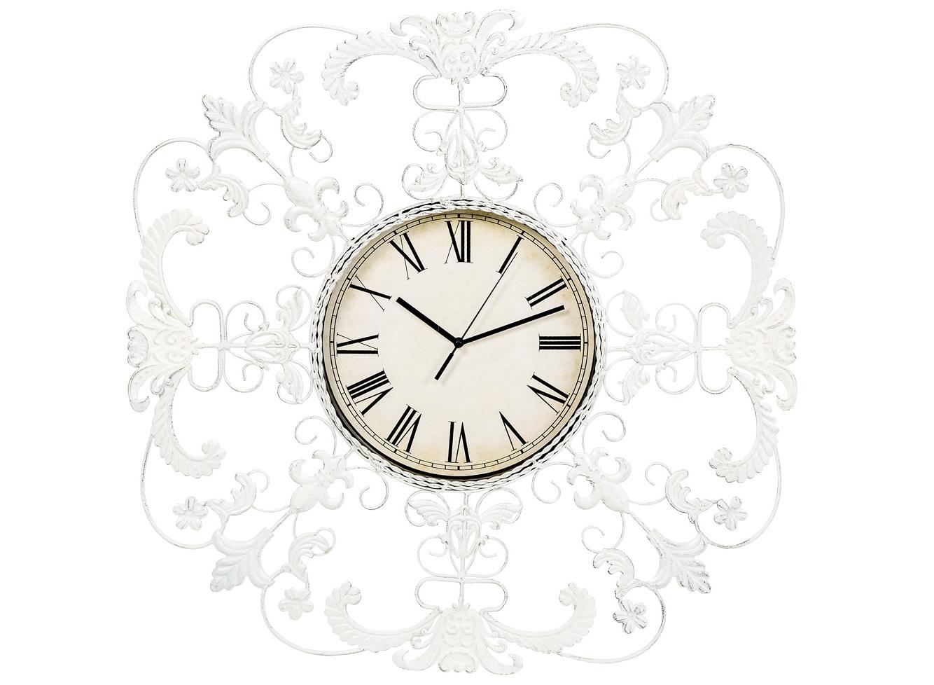 Настенные часы ЭвианНастенные часы<br>Где бы Вы ни расположили часы &amp;quot;Эвиан&amp;quot;, они, подобно мишени,  всегда будут центром внимания. &amp;quot;Эвиан&amp;quot; - идеальный пример декоративных часов. Для одних это часы, увенчанные восхитительной рельефной оправой, для других - изысканное панно, снабженное часами. Эти часы не диктуют центрального расположения, позволяя украсить собой любой домашний уголок. Прозрачный узор эффектно подчеркнет как цветные обои, так и однотонные стены.&amp;lt;div&amp;gt;&amp;lt;br&amp;gt;&amp;lt;/div&amp;gt;&amp;lt;div&amp;gt;&amp;lt;div&amp;gt;Тип батарейки: LR14 C 1,5 В.&amp;lt;/div&amp;gt;&amp;lt;div&amp;gt;Необходимое количество батареек: 1 шт.&amp;lt;br&amp;gt;&amp;lt;/div&amp;gt;&amp;lt;div&amp;gt;Батарейка в комплект не входит.&amp;lt;/div&amp;gt;&amp;lt;/div&amp;gt;<br><br>Material: Металл<br>Width см: 60<br>Depth см: 3<br>Height см: 60