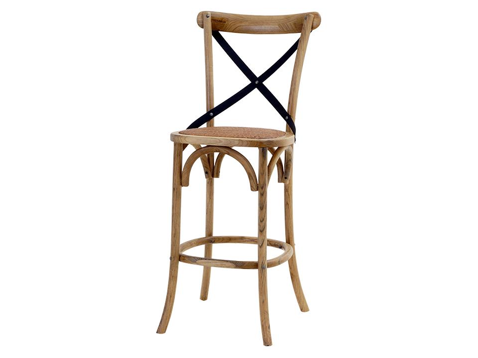 Стул BertramБарные стулья<br>Классический стул для интерьера в стиле &amp;quot;&amp;quot;кантри&amp;quot;&amp;quot; или &amp;quot;&amp;quot;Прованс&amp;quot;&amp;quot; -- винтажная форма и искуственно состаренная отделка. Скомбинируйте несколько таких стульев разных цветов и на вашей кухне воцарится по-французски легкое настроение.&amp;amp;nbsp;<br><br>Material: Вяз<br>Width см: 50<br>Depth см: 56<br>Height см: 117