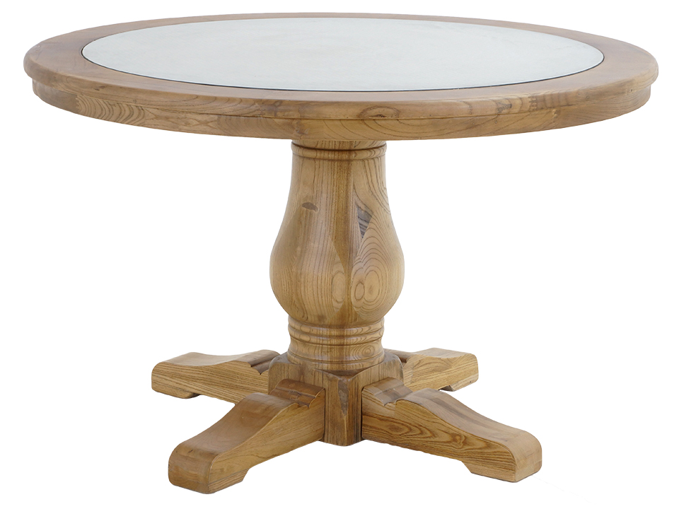 Стол обеденный BradfordОбеденные столы<br><br><br>Material: Вяз<br>Высота см: 76