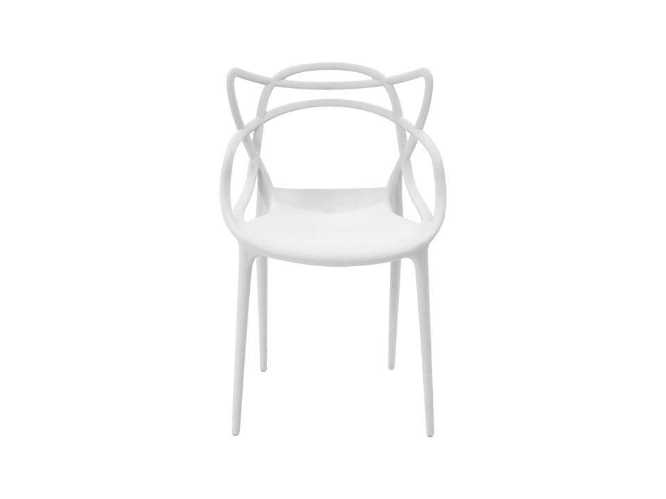 Стул SwellОбеденные стулья<br>Форма этого стула, созданного по мотивам знаменитой модели Филлипа Старка, не подчиняется законам гравитации. Привнесите в свой дом немного космического волшебства!&amp;lt;br&amp;gt;<br><br>Material: Пластик<br>Width см: 52<br>Depth см: 55<br>Height см: 84