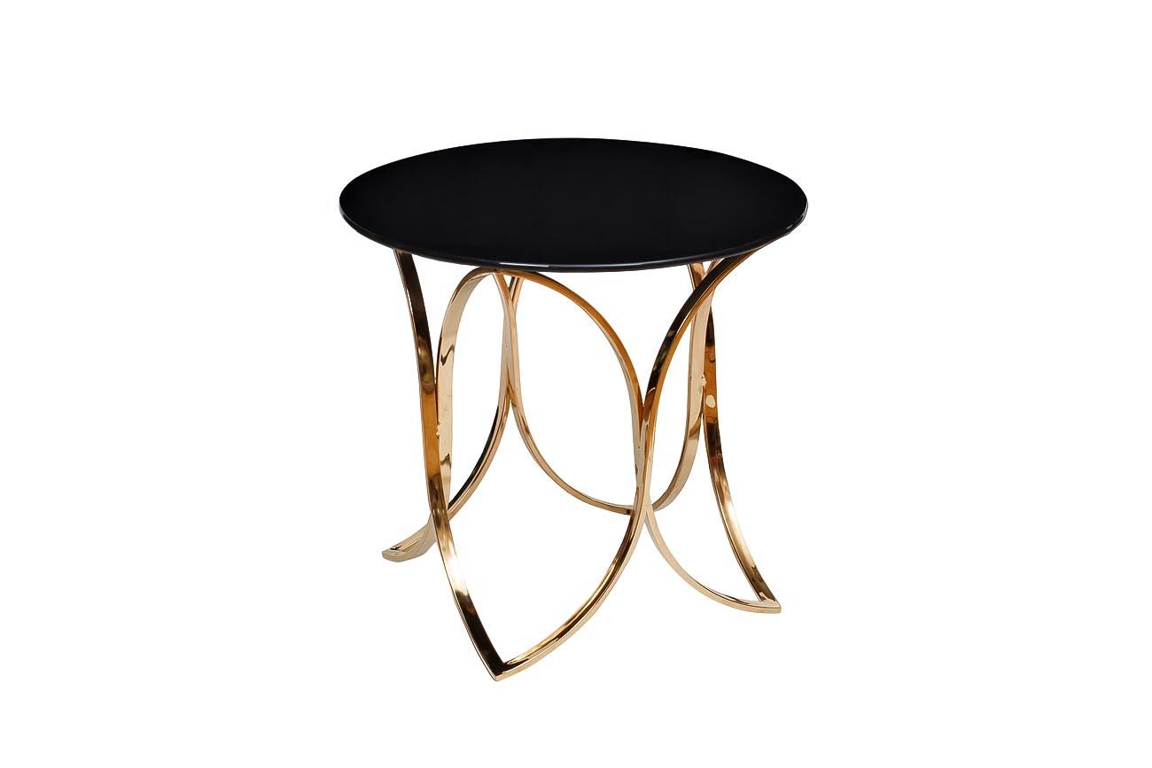 СтолКофейные столики<br>Материал основания: металл.&amp;lt;div&amp;gt;Материал столешницы: стекло.&amp;lt;/div&amp;gt;<br><br>Material: Металл<br>Height см: 55<br>Diameter см: 60