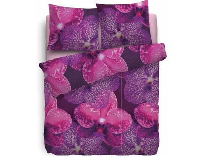 Комплект постельного белья amber (jan hekkert) фиолетовый 145x215 см.