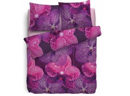 Комплект постельного белья amber (jan hekkert) фиолетовый 200x220 см.