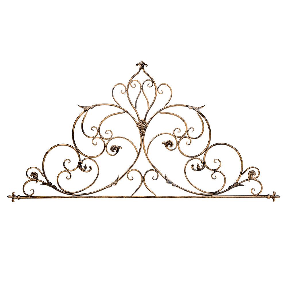 Панно ФонтейнПанно<br>Настенное панно &amp;quot;Фонтейн&amp;quot; - интерьерное украшение, готовое разрисовать эффектный узорчатый фронтон над каминной полкой и консолью, секретером и кофейным столиком. Кружевной дворцовый узор богат романтическим настроением. Легкая, почти прозрачная конструкция на весь окружающий интерьер распространяет волну невесомости и простора. Прозрачный орнамент эффектно подчеркнет как цветные обои, так и однотонные стены. Вы можете использовать панно &amp;quot;Фонтейн&amp;quot; и для наружного украшения загородного дома. Благодаря гальваническому покрытию, металл равнодушен к влаге и температурным перепадам. <br>&amp;lt;div&amp;gt;&amp;lt;br&amp;gt;&amp;lt;/div&amp;gt;<br>&amp;lt;iframe width=&amp;quot;530&amp;quot; height=&amp;quot;315&amp;quot; src=&amp;quot;https://www.youtube.com/embed/D-TrjvOJcG4&amp;quot; frameborder=&amp;quot;0&amp;quot; allowfullscreen&amp;gt;&amp;lt;/iframe&amp;gt;<br><br>Material: Металл<br>Width см: 145<br>Depth см: 1<br>Height см: 71