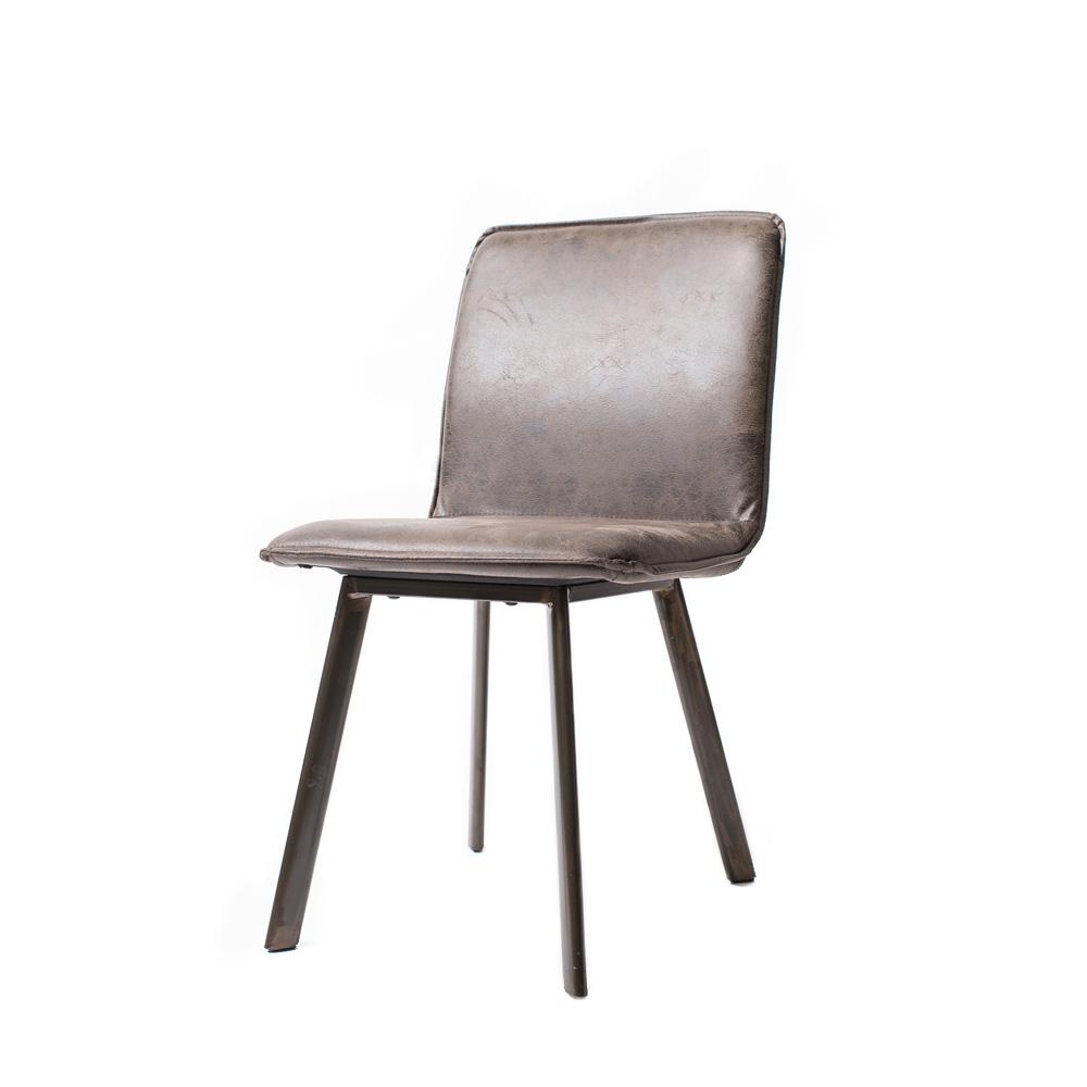 Стул Blackwater Stone GreyОбеденные стулья<br>Стул с отделкой из высококачественной искусственной замши на ножках из массива дерева.<br><br>Material: Замша<br>Ширина см: 47<br>Высота см: 87<br>Глубина см: 56