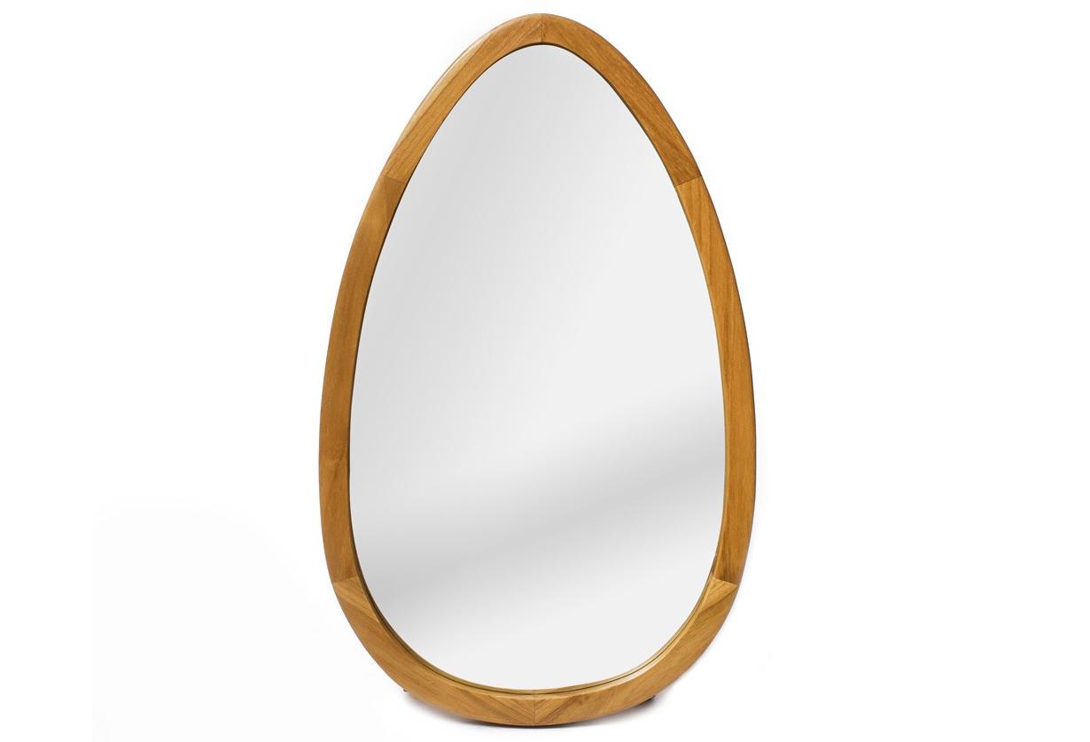 Зеркало овальное HastaНастенные зеркала<br><br><br>Material: Тик<br>Length см: None<br>Width см: 50<br>Depth см: 3.5<br>Height см: 83<br>Diameter см: None