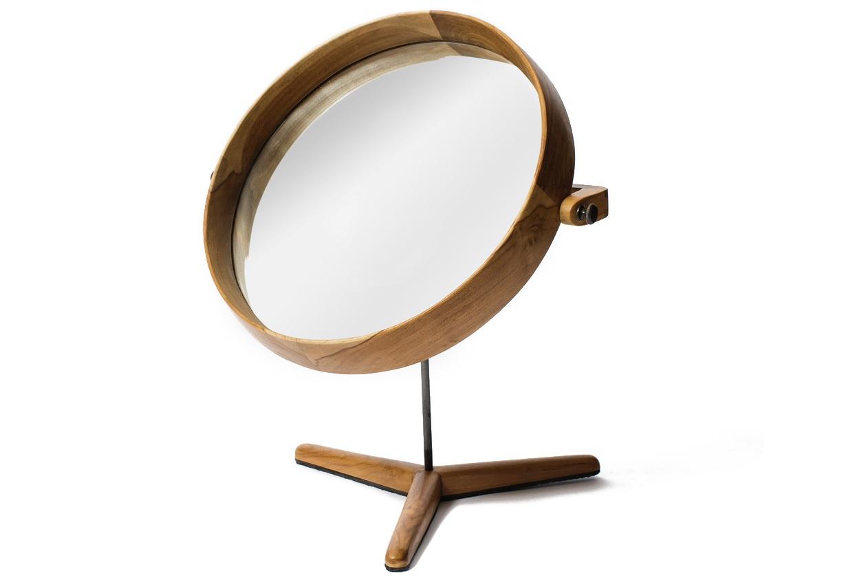 Зеркало настольное HastaНастольные зеркала<br><br><br>Material: Тик<br>Length см: None<br>Width см: 40<br>Depth см: 6<br>Height см: 60<br>Diameter см: None