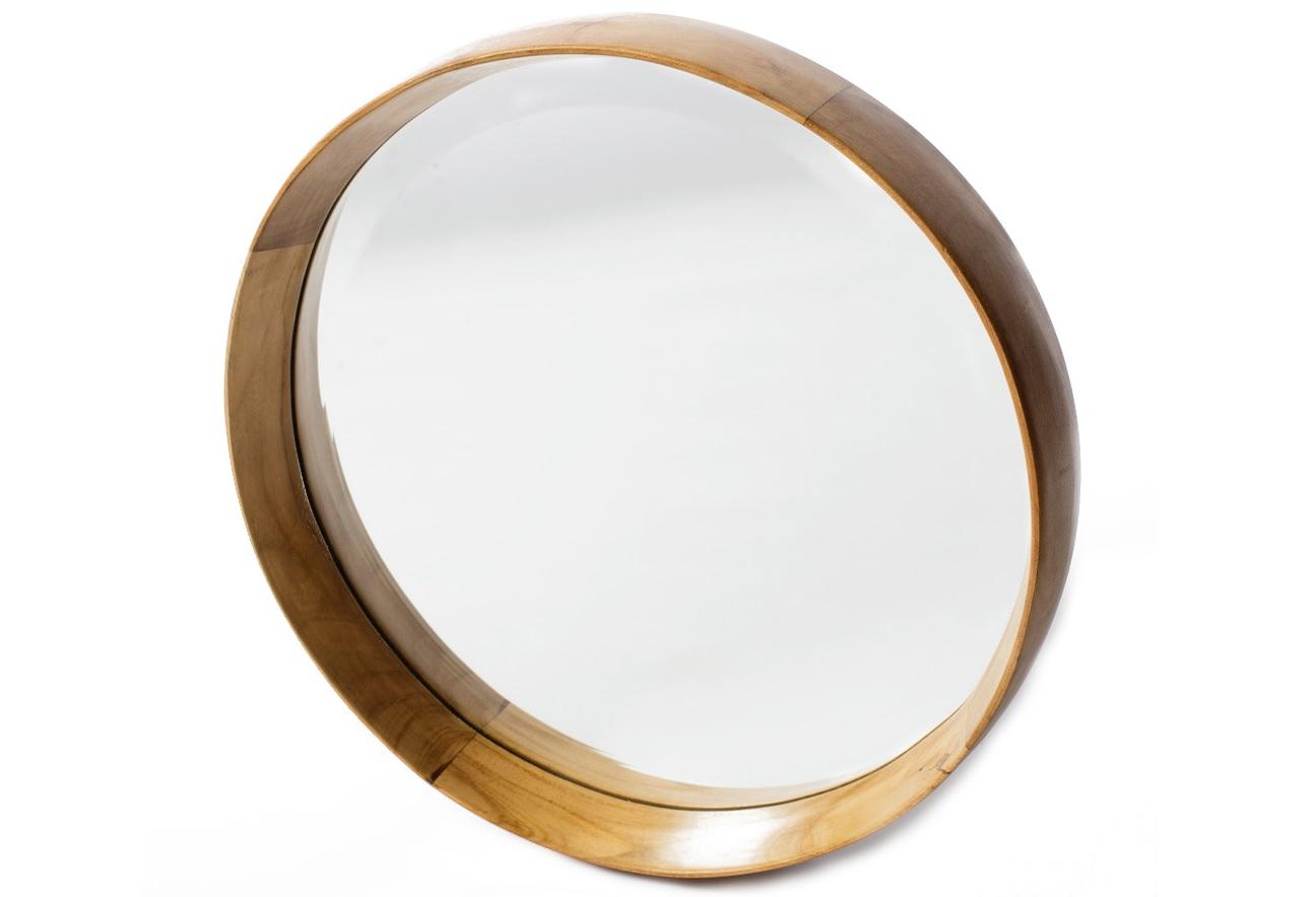 Зеркало HastaНастенные зеркала<br><br><br>Material: Тик<br>Length см: None<br>Width см: None<br>Depth см: 6<br>Height см: None<br>Diameter см: 55