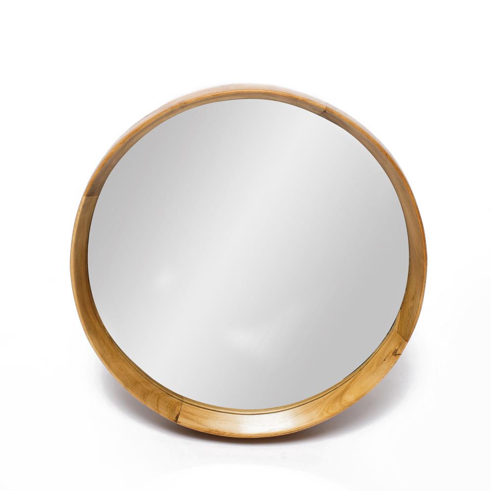 Зеркало HastaНастенные зеркала<br><br><br>Material: Тик<br>Length см: None<br>Width см: None<br>Depth см: 6<br>Height см: None<br>Diameter см: 40