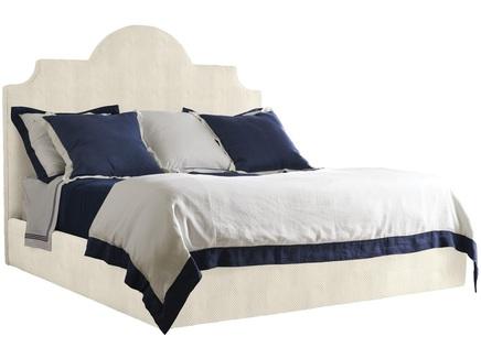 Мягкая кровать hamptons (myfurnish) белый 170x150x210 см.