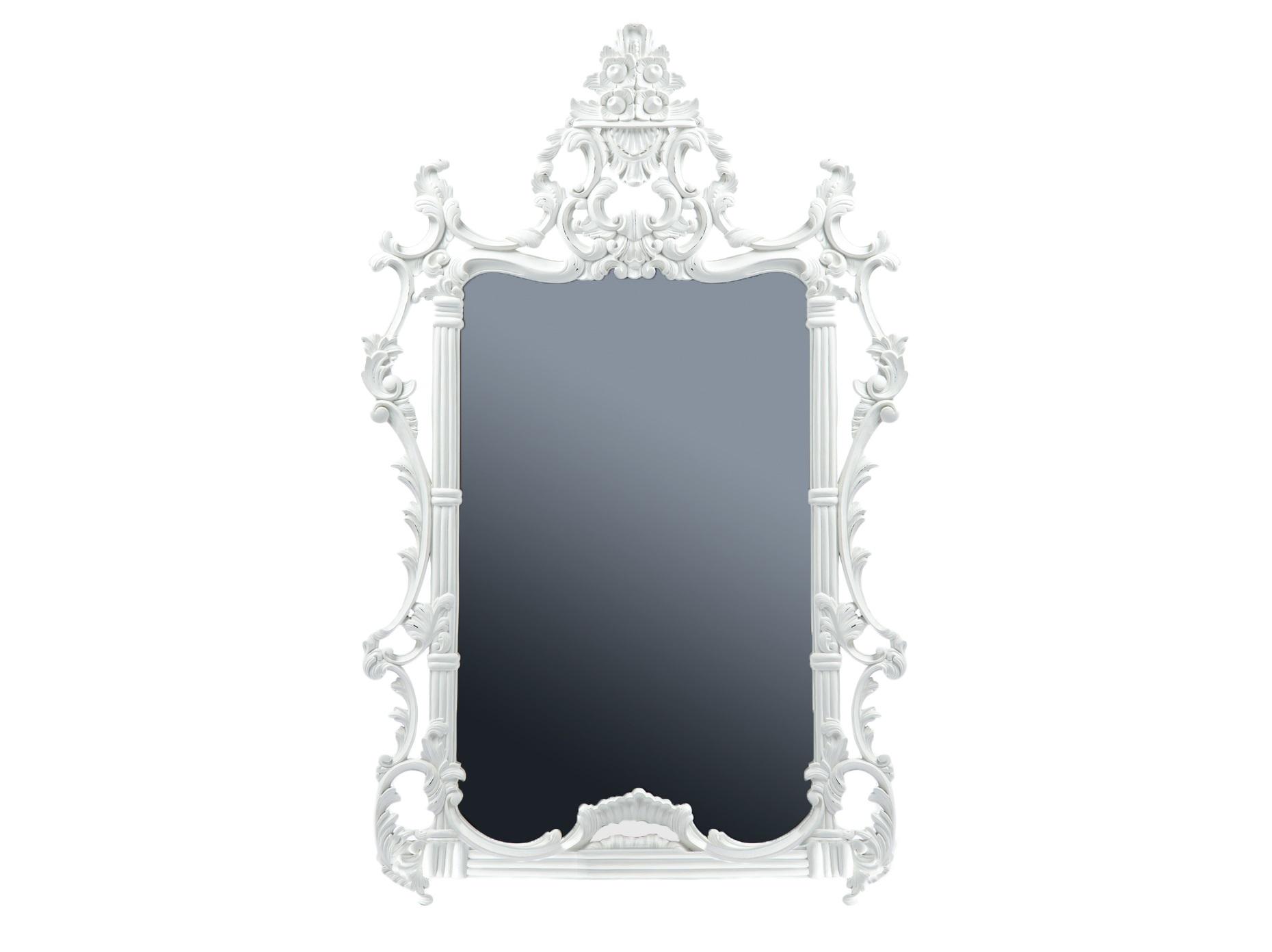 Зеркало НаполеонНастенные зеркала<br>Зеркало в раме из дерева махагони, украшенной резьбой и старением.<br><br>Material: Красное дерево<br>Width см: 96<br>Depth см: 4<br>Height см: 155